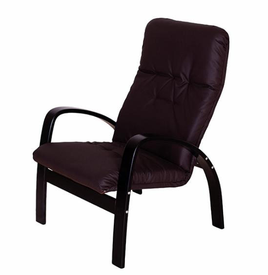 """Кресло """"Ладога"""" венге/кофе"""