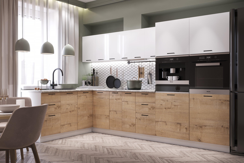 Модульный кухонный гарнитур «Дуся»