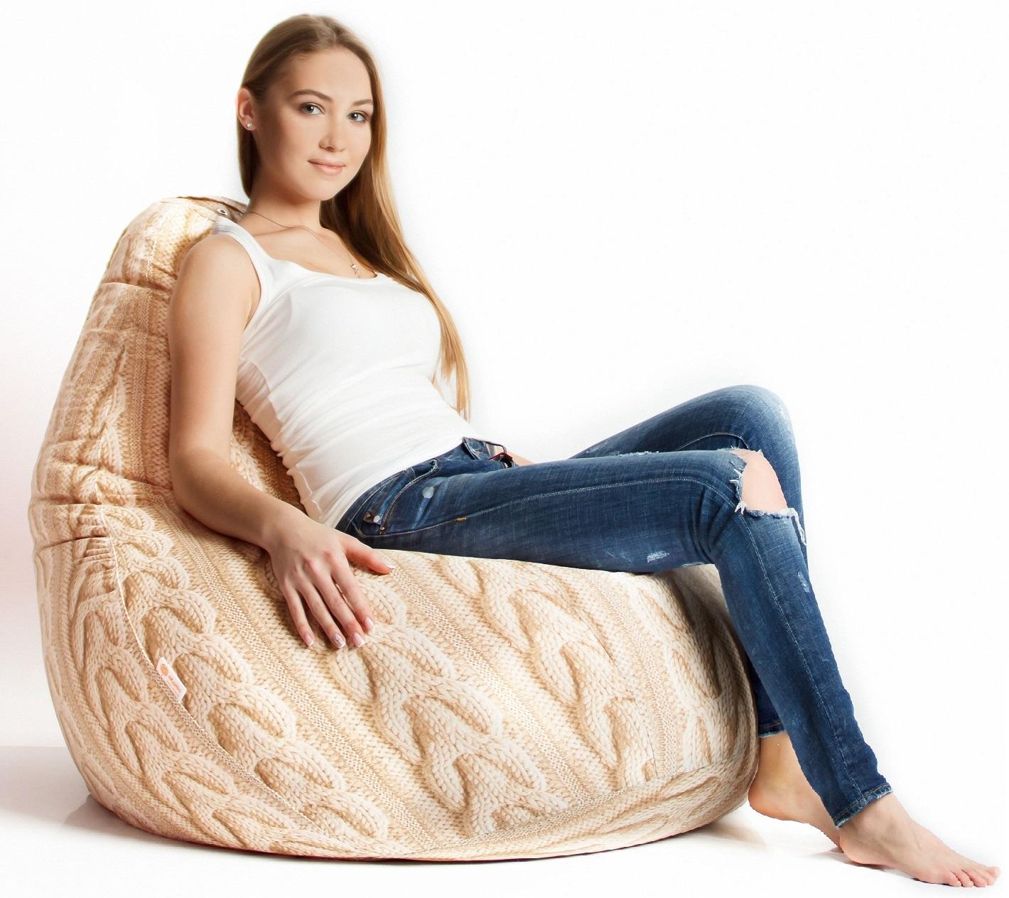 Кресло-мешок Тироль приобрести в Томске