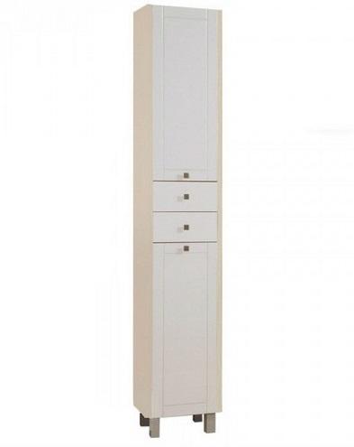 """Шкаф-колонна с бельевой корзиной """"Альпина 65"""""""