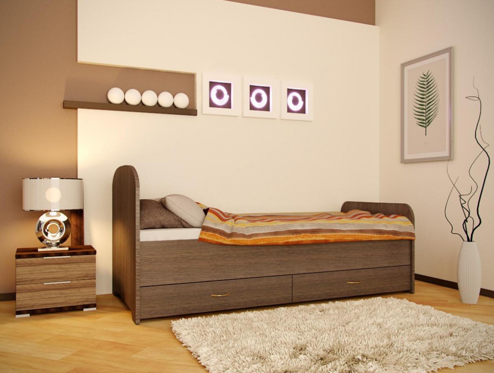 Кровать Веста приобрести в Томске