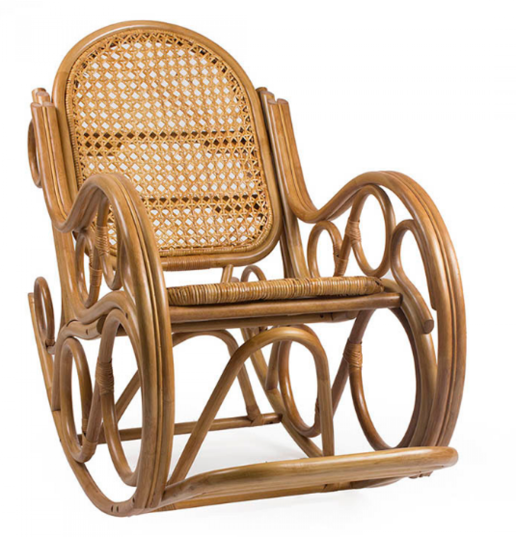 """Кресло-качалка """" Novo"""" с подушкой"""