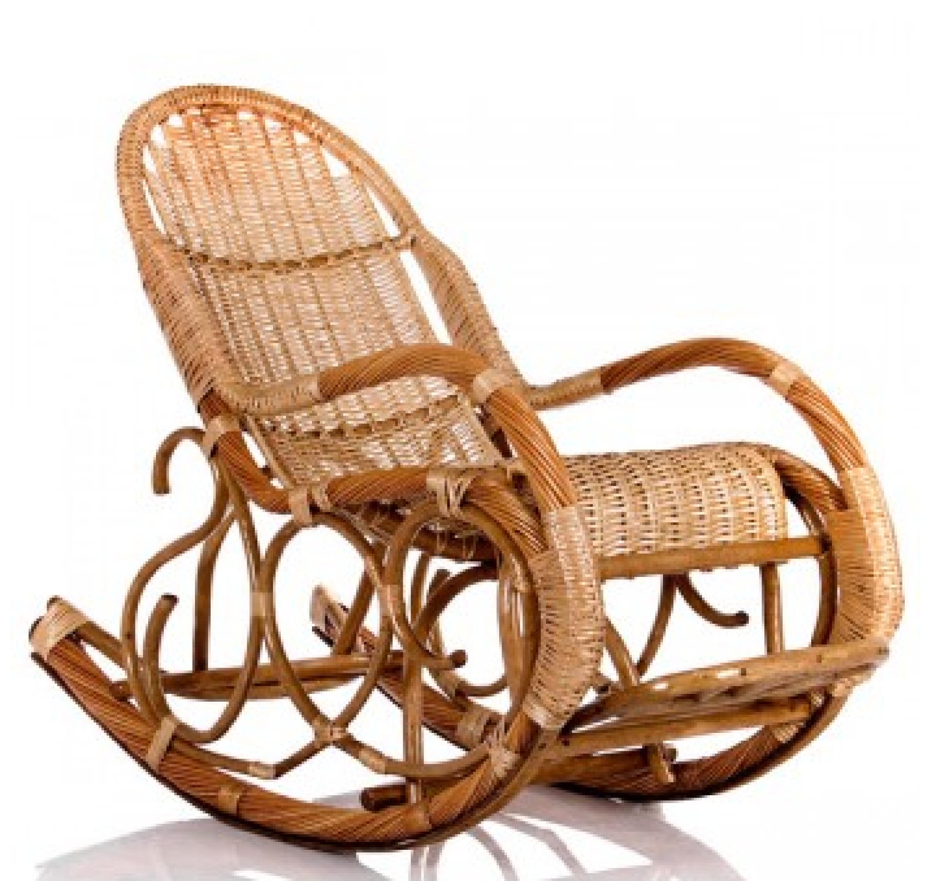 """Кресло-качалка """"Калитва"""" лоза/орех"""