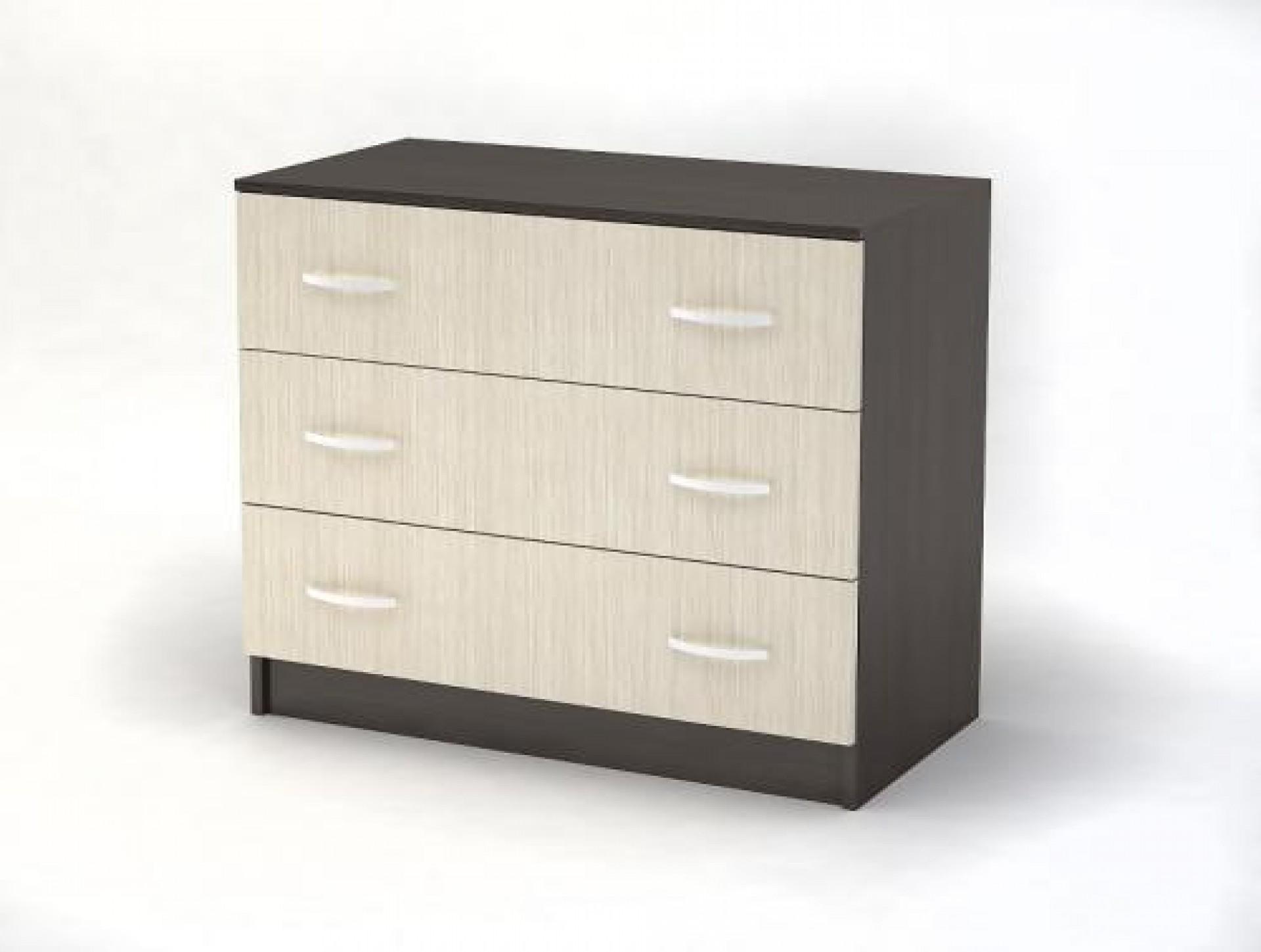 """Комод 3 ящика спальня """"Бася"""" купить в интернет-магазине Мебель БиН"""