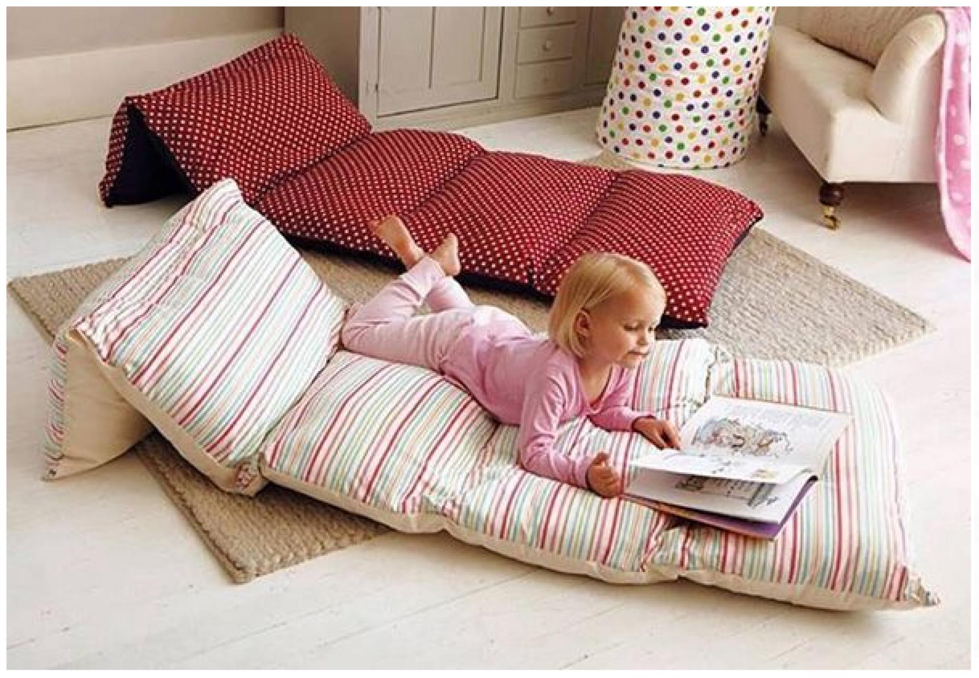 Напольная подушка-коврик трансформер НА ЗАКАЗ приобрести в Томске