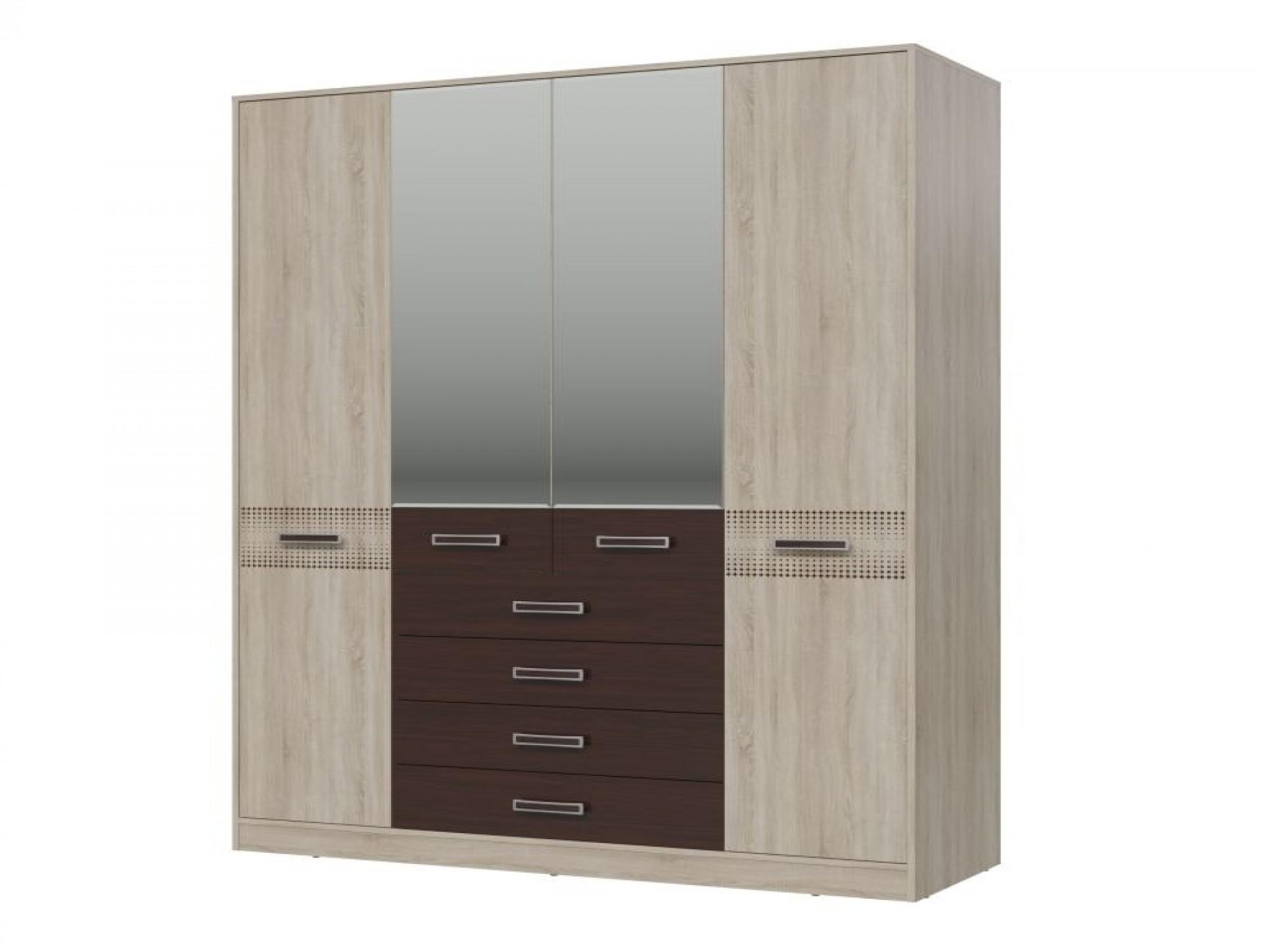 """Шкаф  4-х дверный  с ящиками """"Румба"""""""
