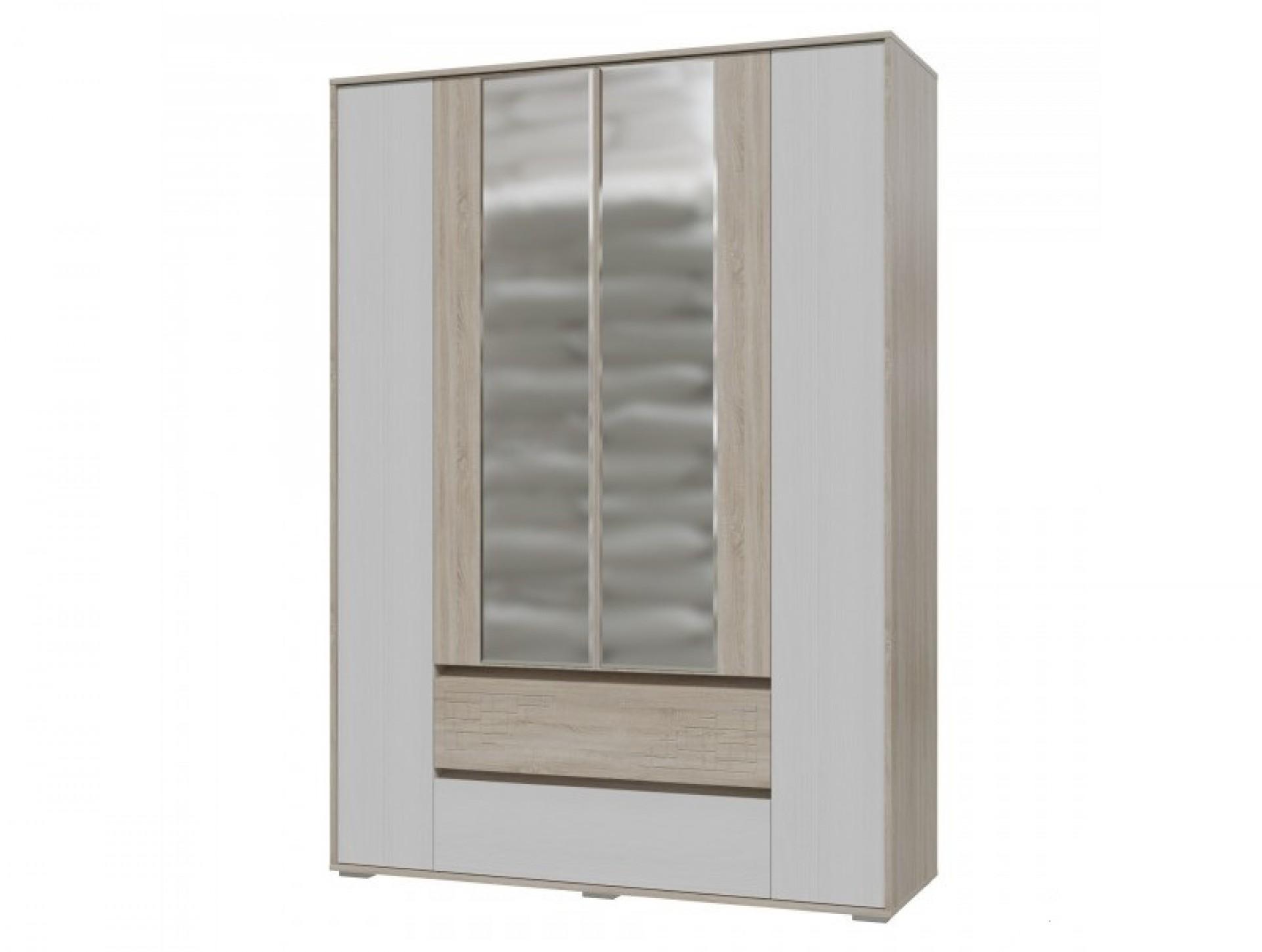"""Шкаф 4-х дверный с ящиками """"Мальта"""""""