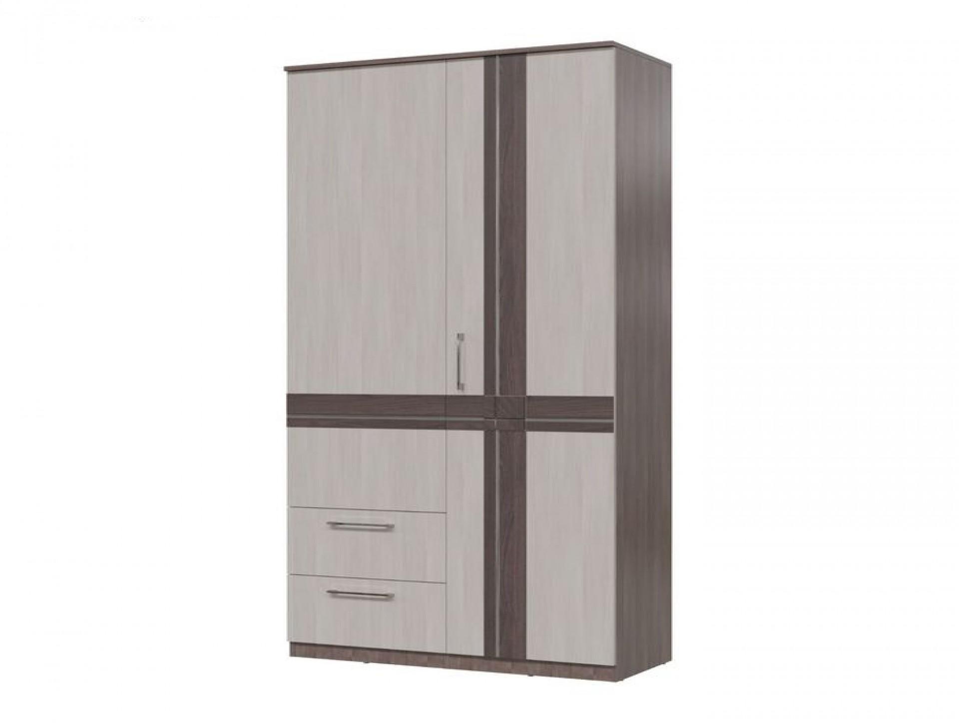 Шкаф 2х дверный с ящиками «Презент»