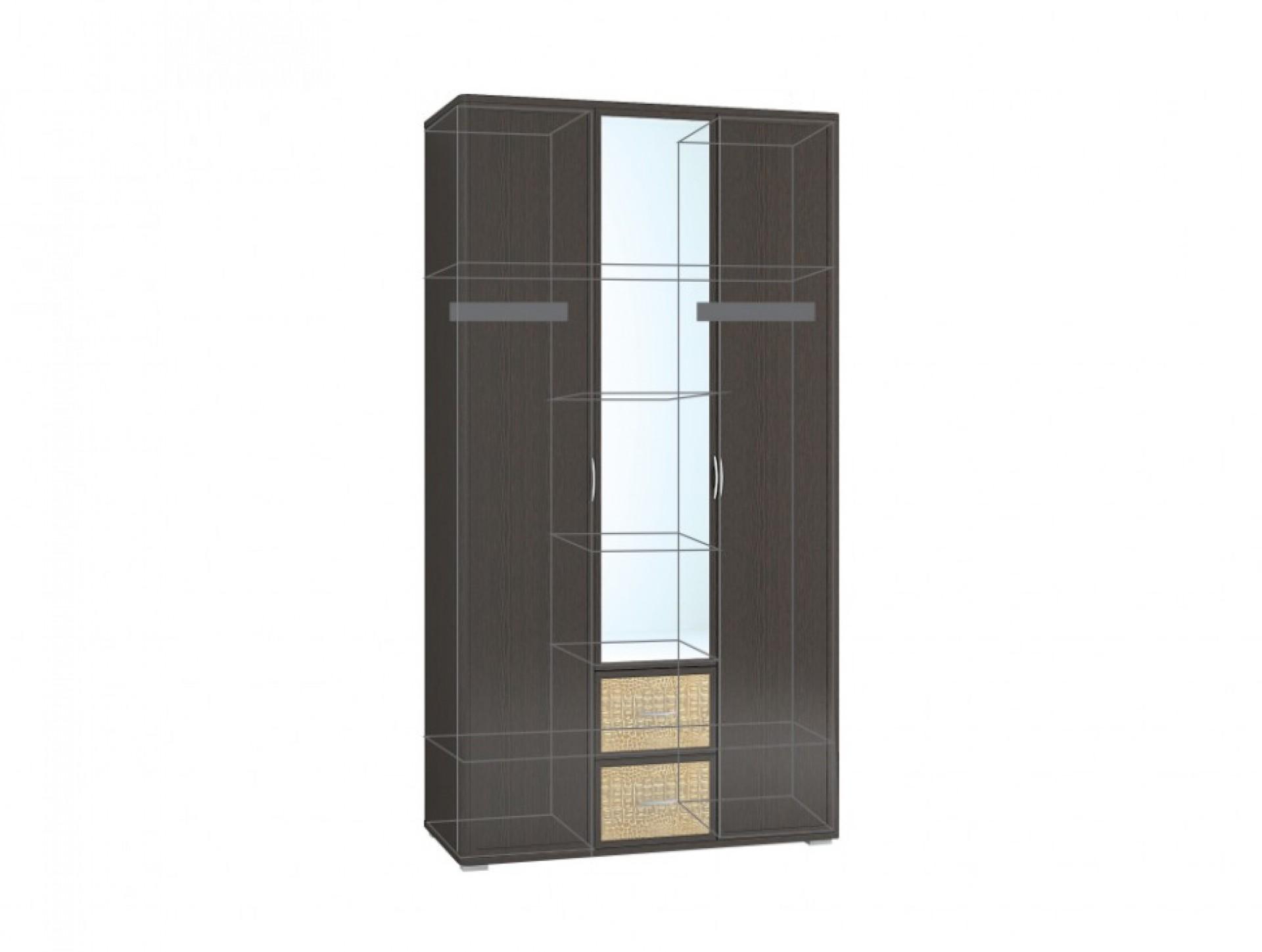 "Шкаф 3-створчатый с зеркалом ""Джульетта"""