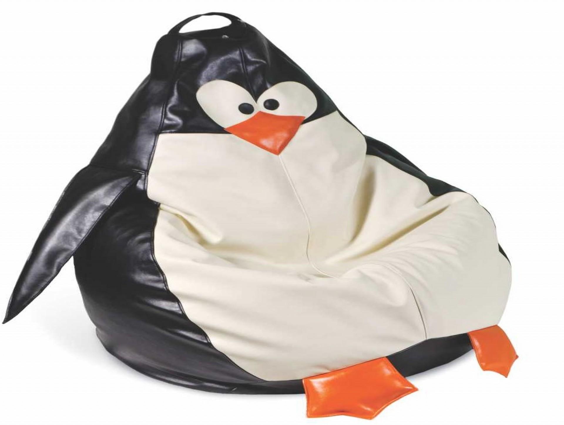 """Детское кресло-мешок """"Пингвин Нейлон"""""""