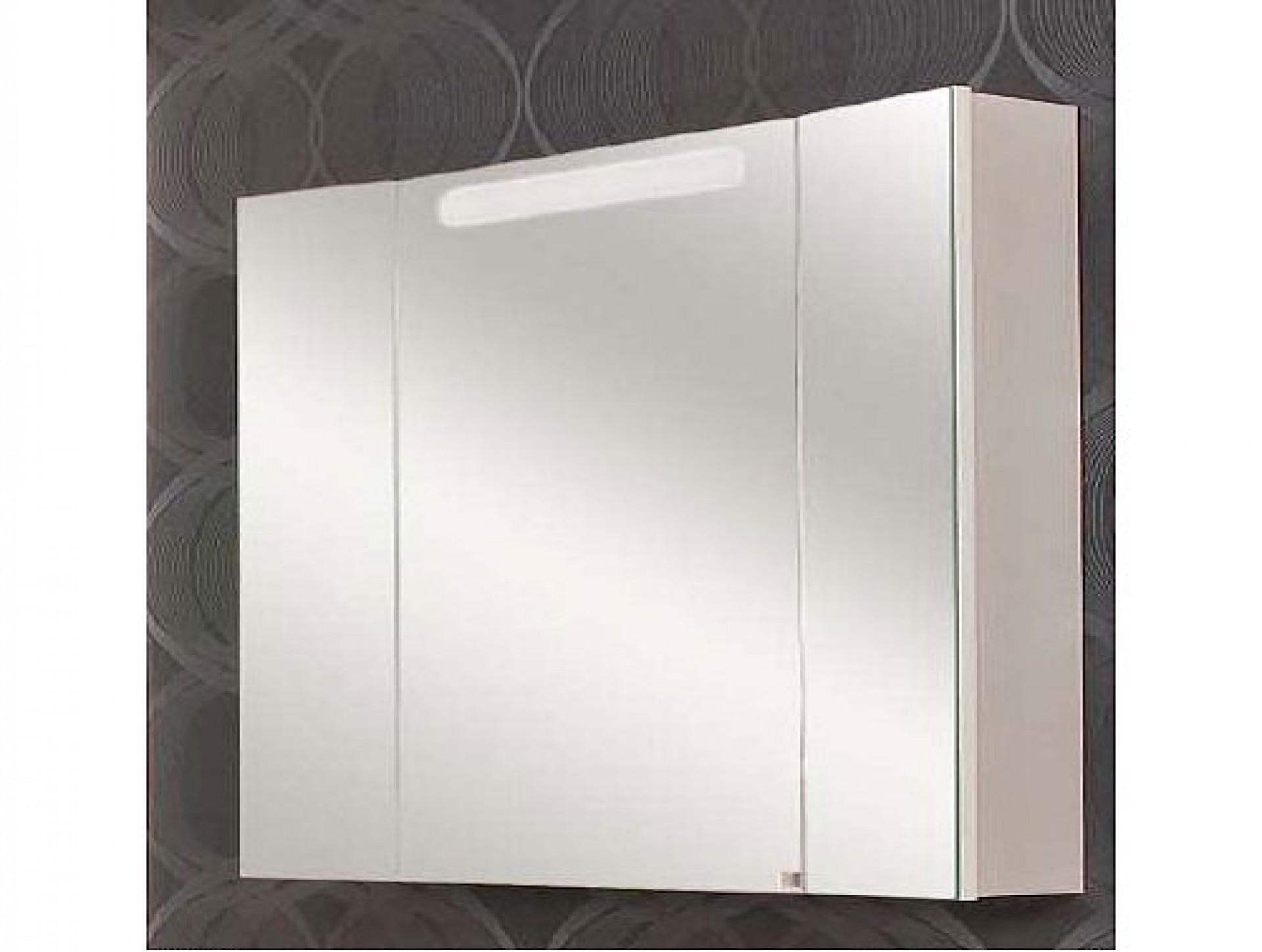 """Зеркальный шкаф """"Мадрид"""" со светильником"""
