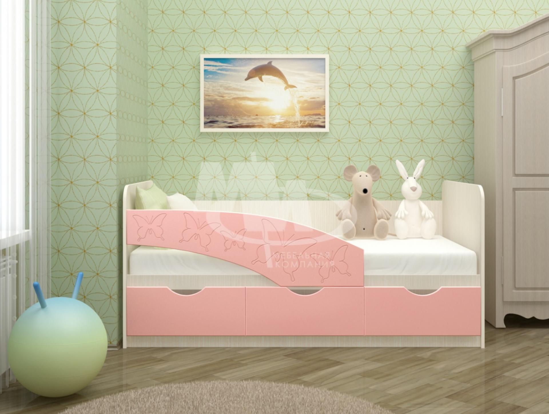 """Кровать """"Бабочки"""""""