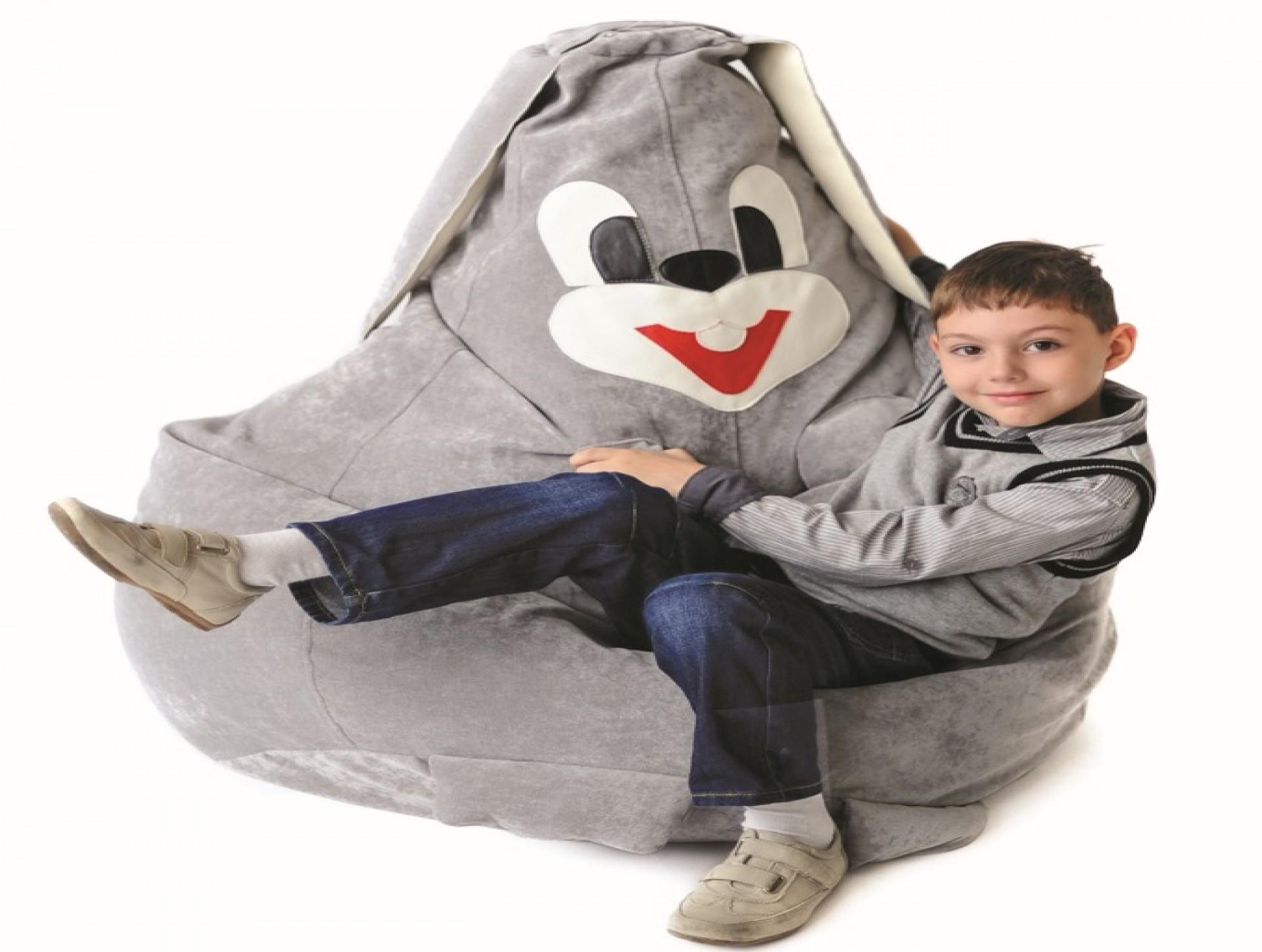 """Детское кресло-мешок """"Зайка"""""""