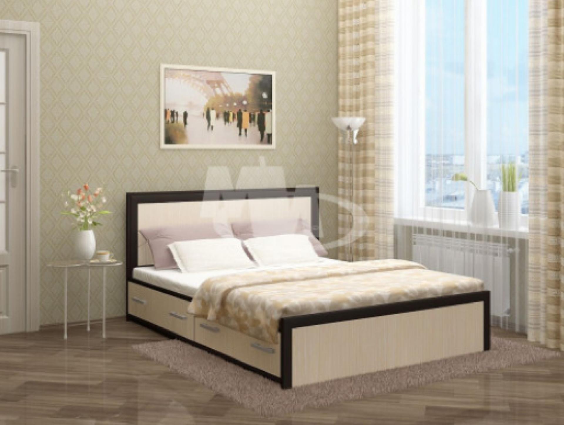 """Кровать с угловым штапиком """"Модерн"""""""