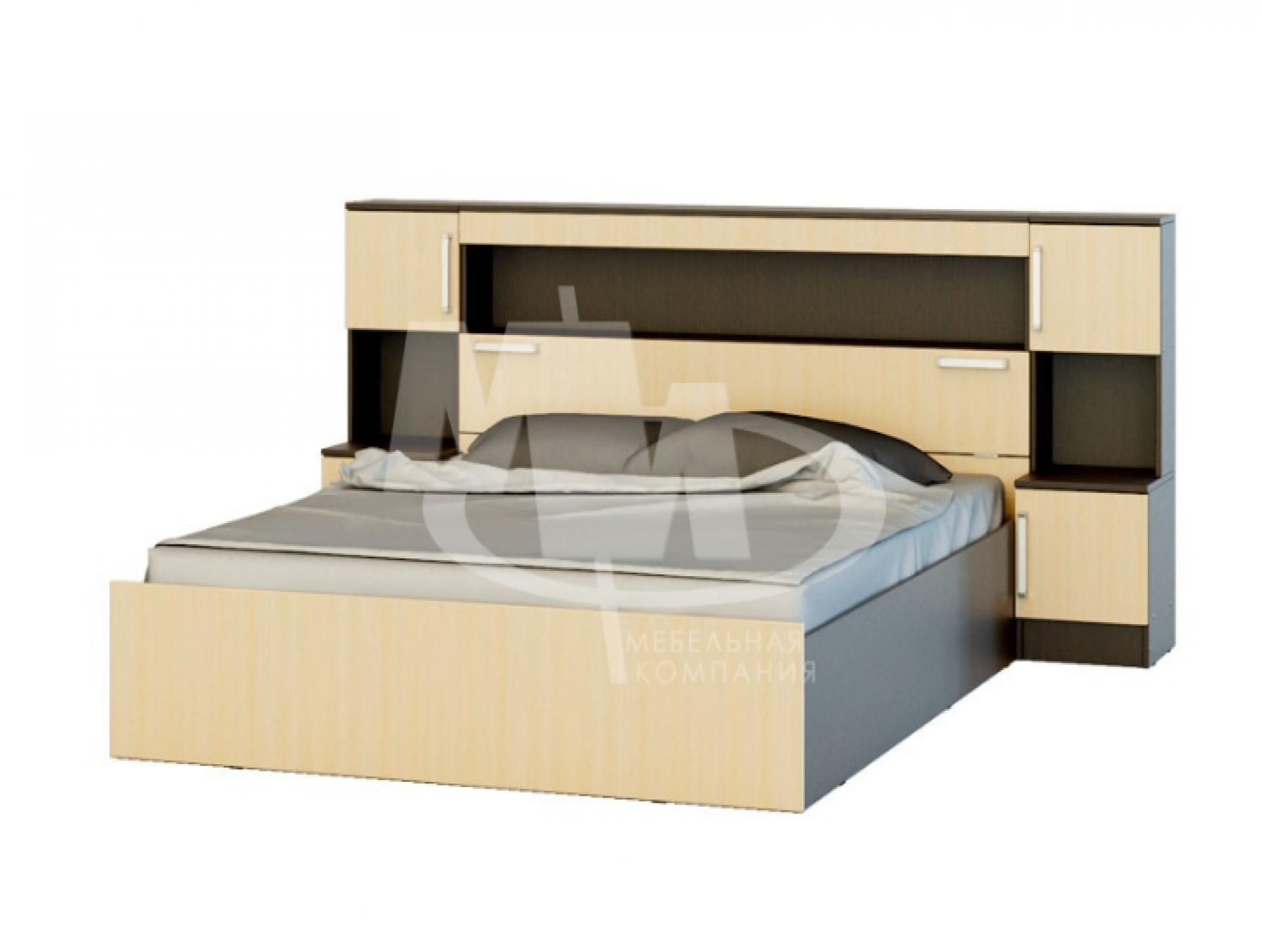 """Кровать с надстройкой и тумбой """"Бася"""""""