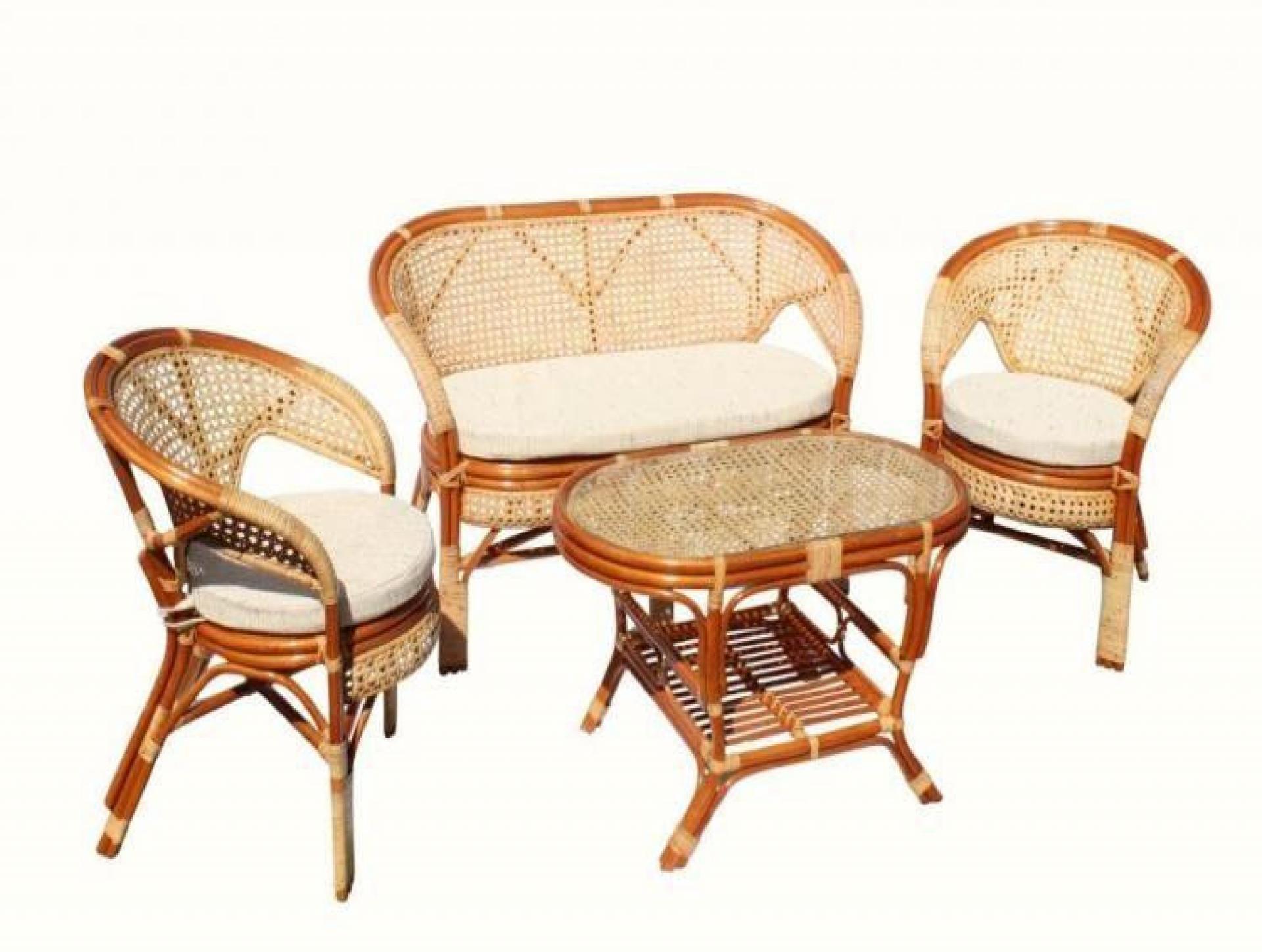 """Набор для отдыха """"Pelangi"""" (Диван, 2 кресла, журнальный столик)"""