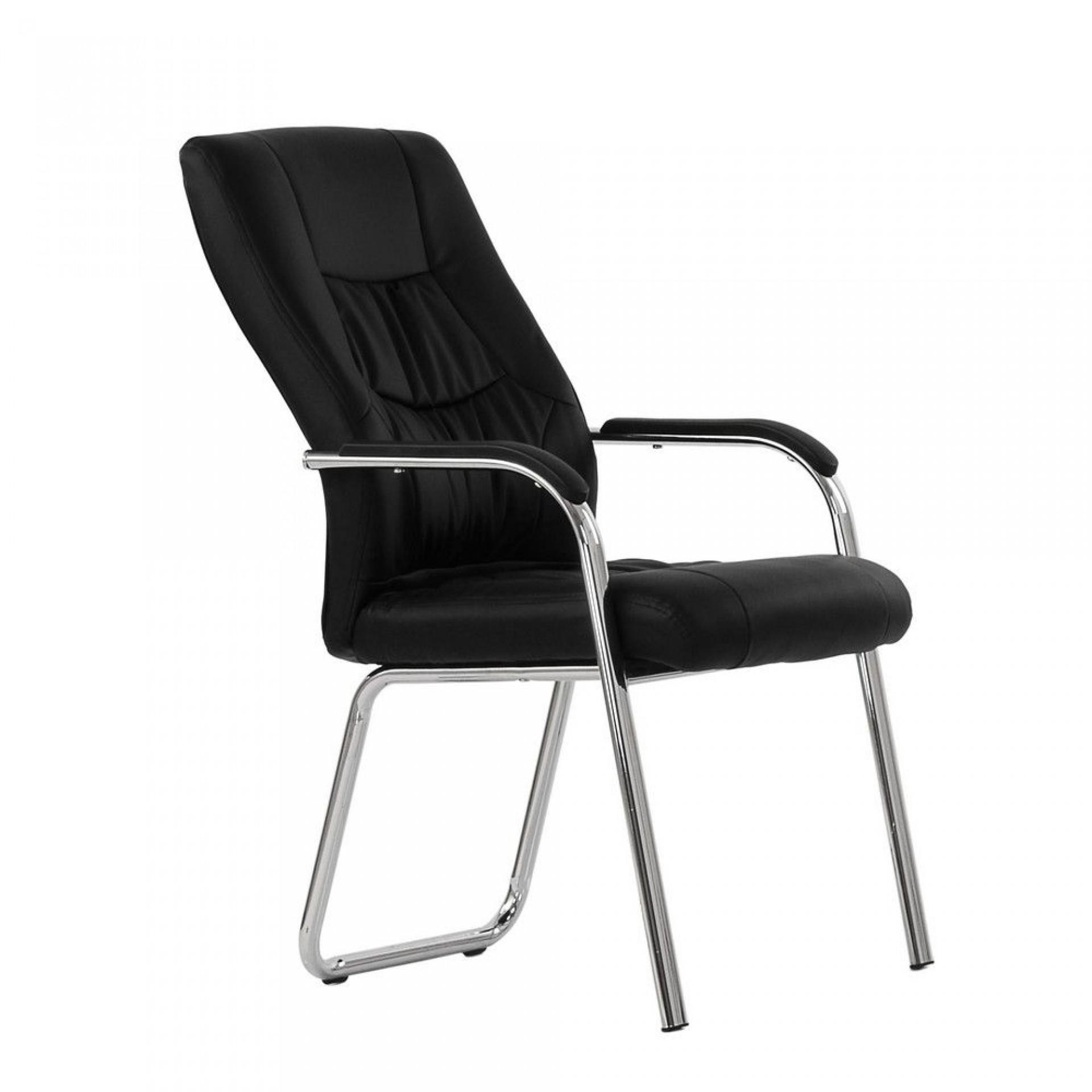 """Кресло """"K-15"""" для посетителей и переговорных черный"""