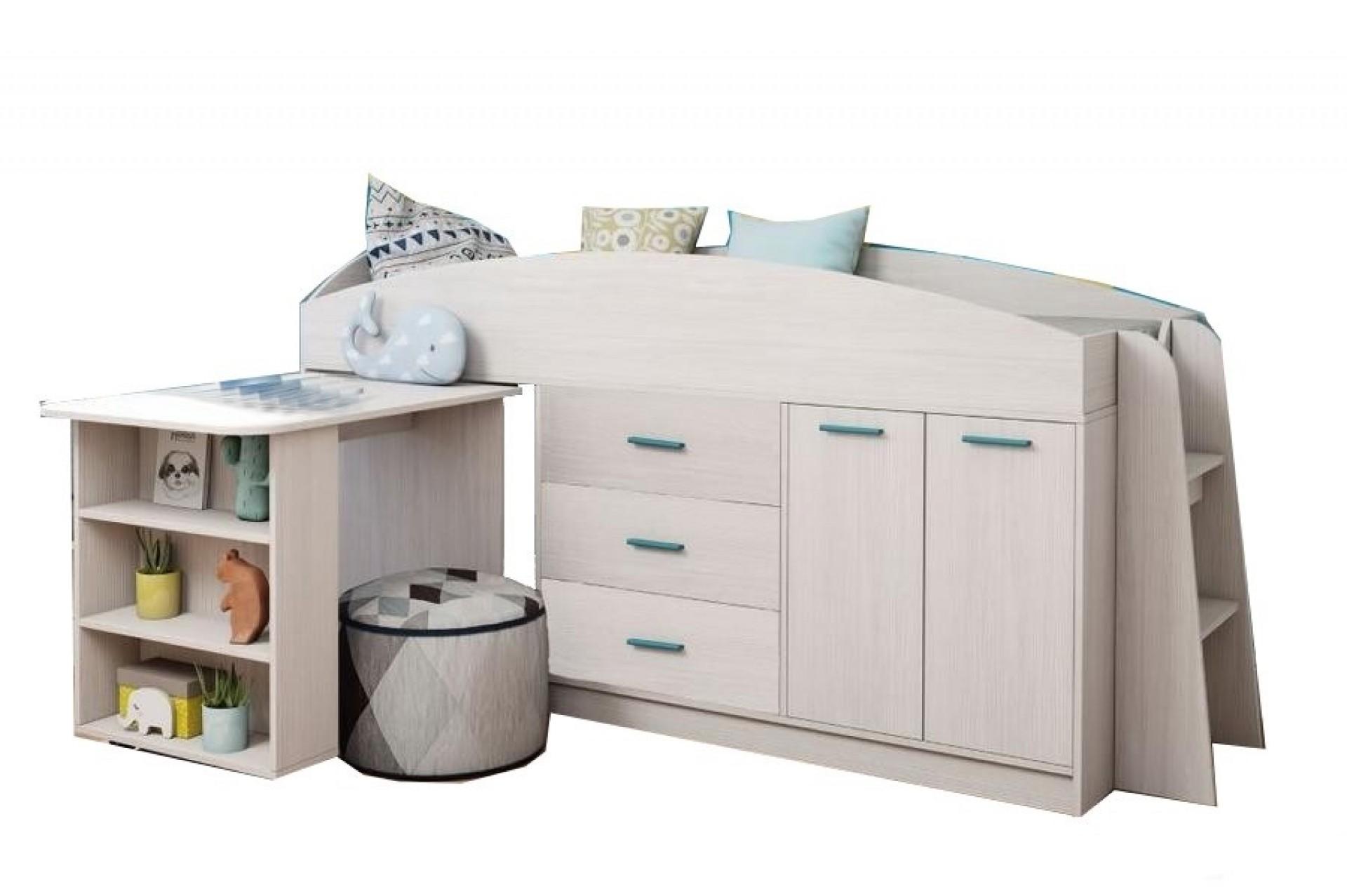"""Кровать без рисунка """"Каприз-12"""""""