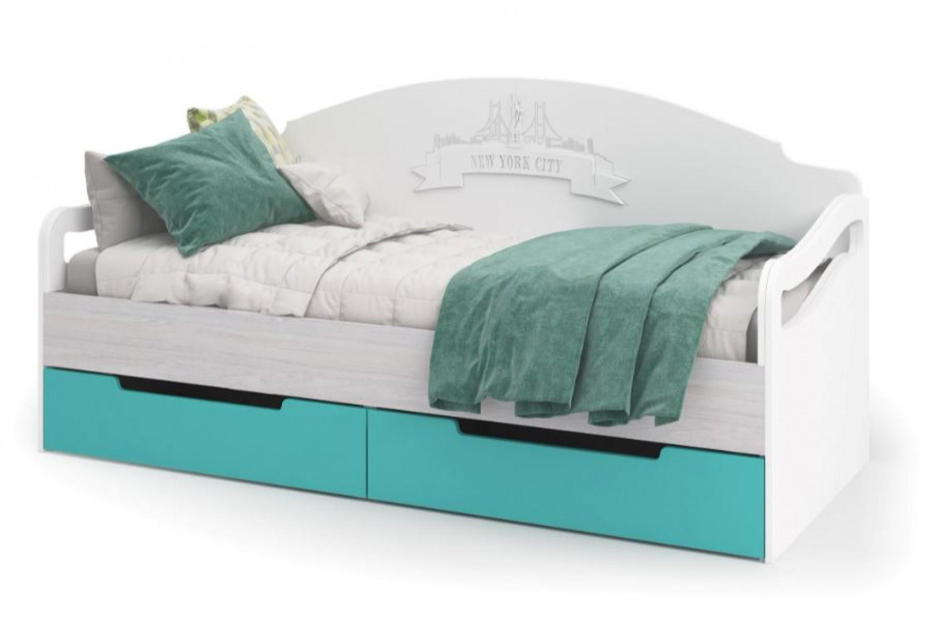 """Кровать с ящиками """"Миа"""""""