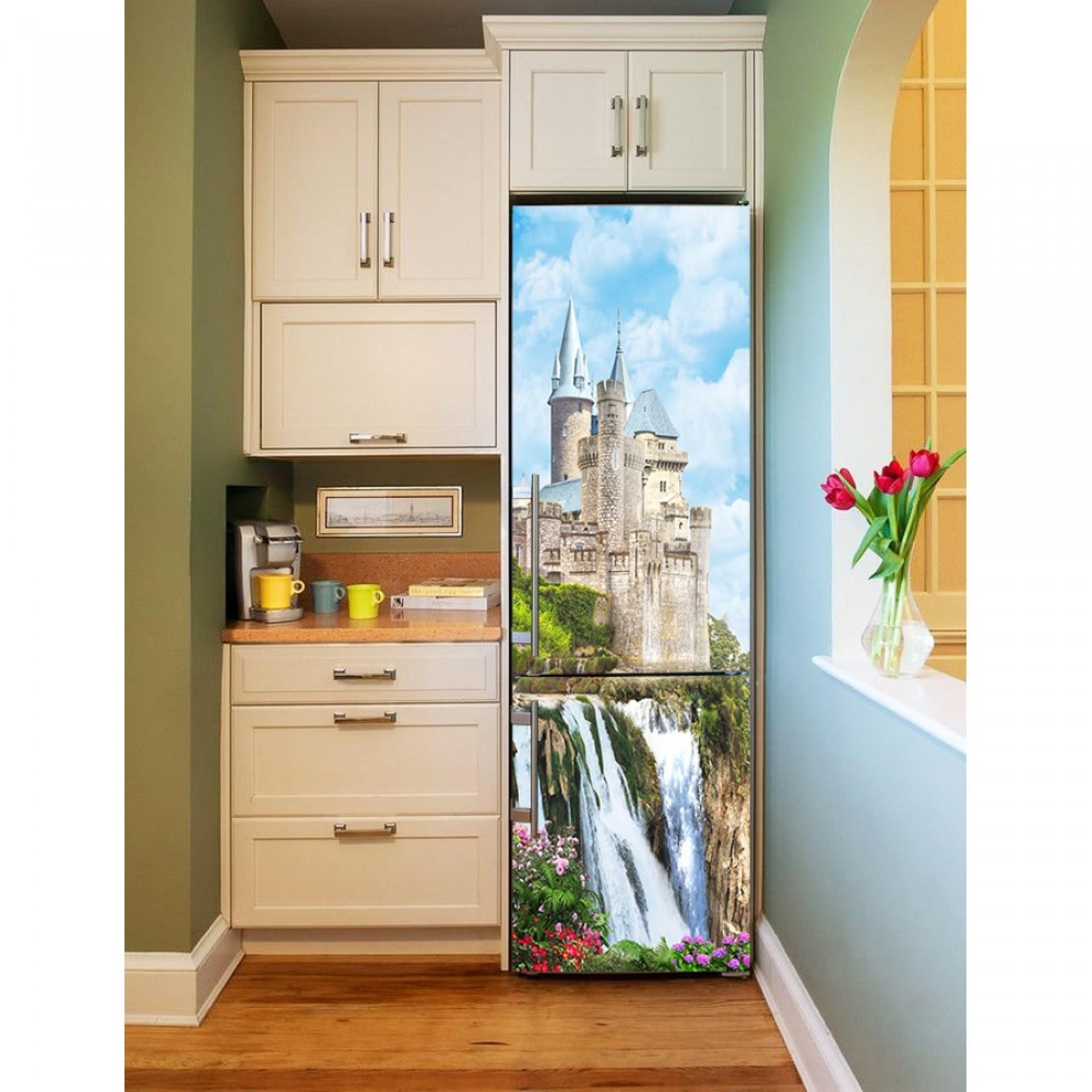 """Магнитное полотно на холодильник """"Замок""""  МП466"""
