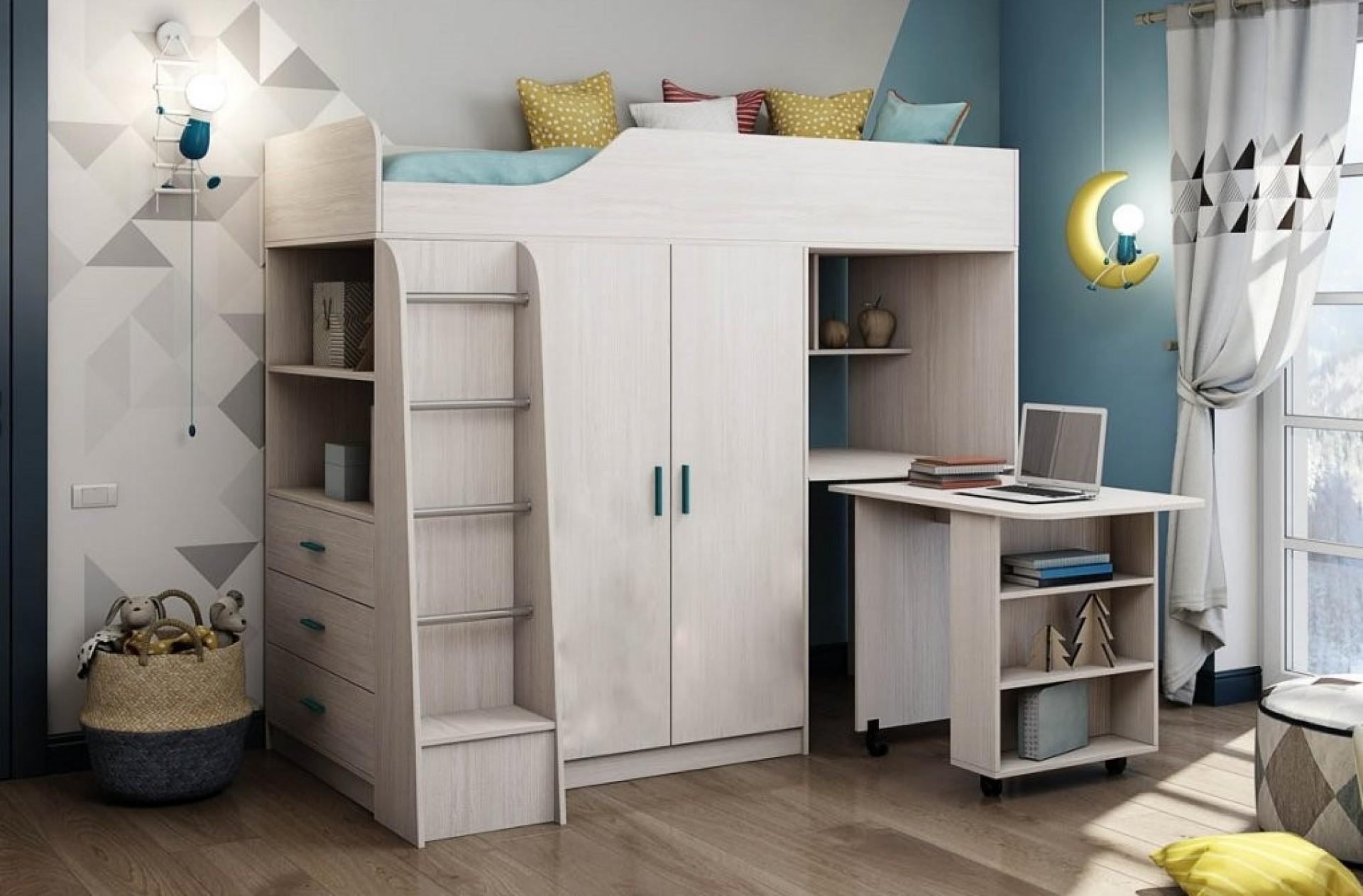 """Кровать без рисунка """"Каприз-8"""""""
