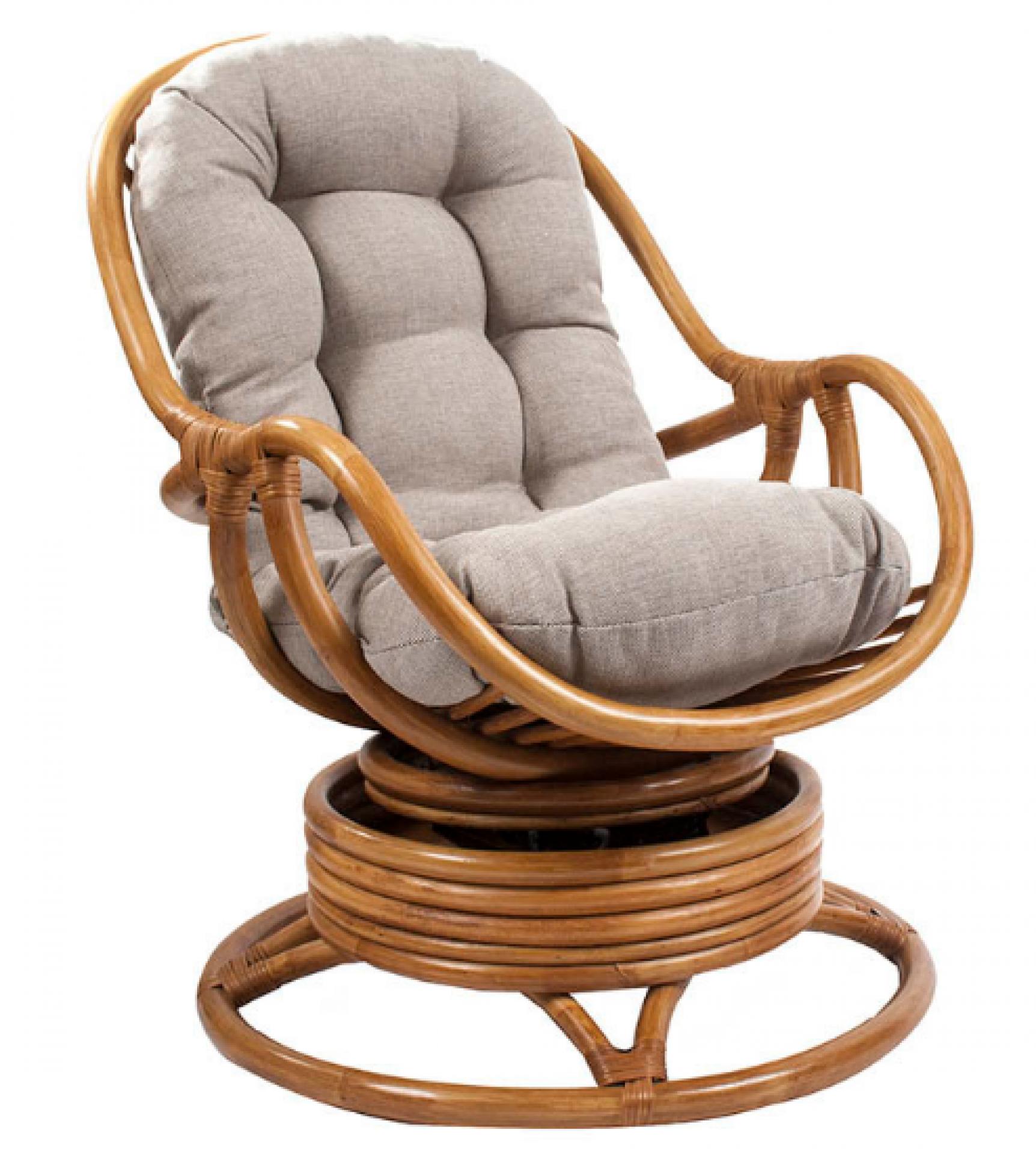 """Кресло-качалка """"Kara"""" с подушкой"""