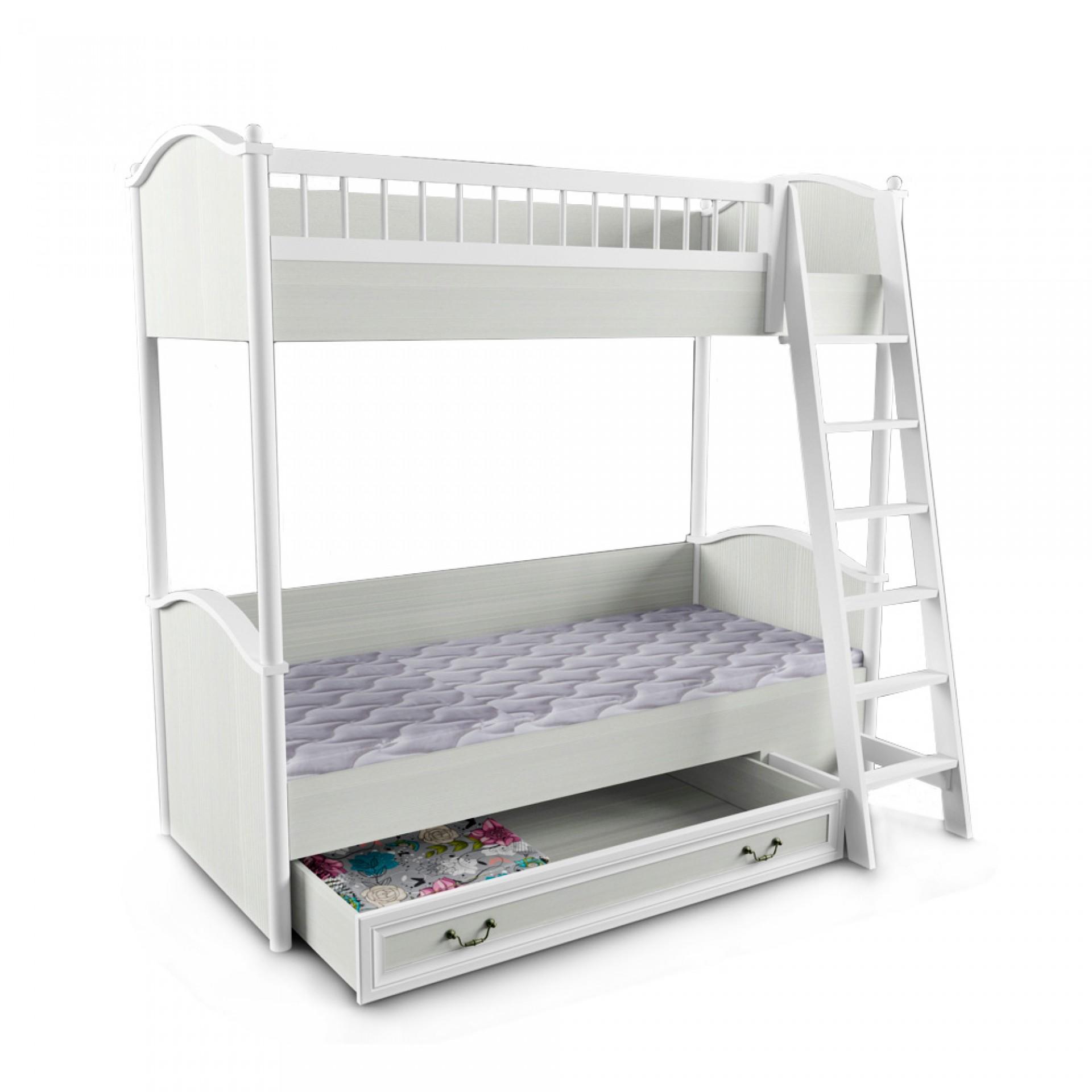 """Кровать 2-х ярусная с лестницей """"Классика"""""""