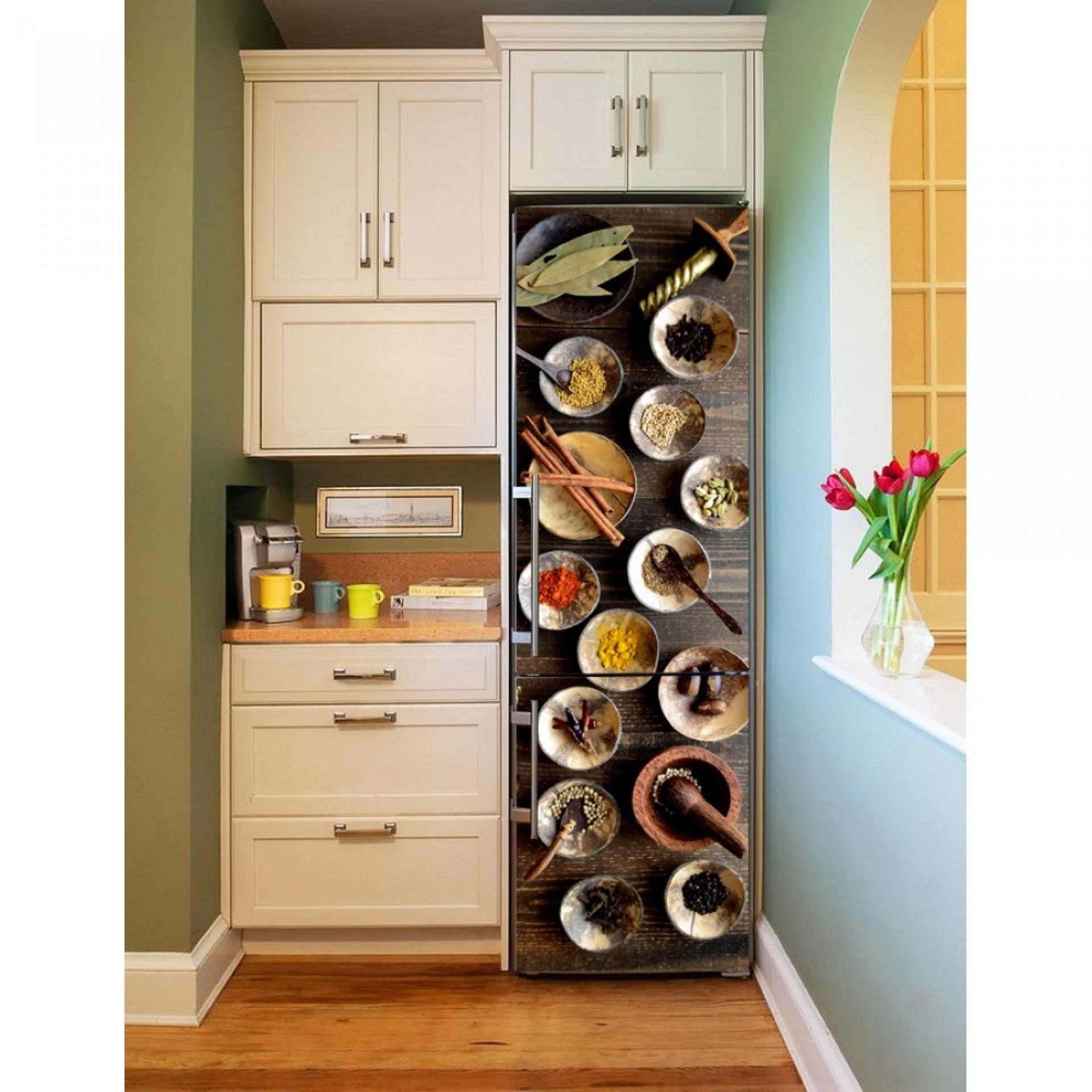 """Магнитное полотно на холодильник """"Острые специи""""  МП468"""