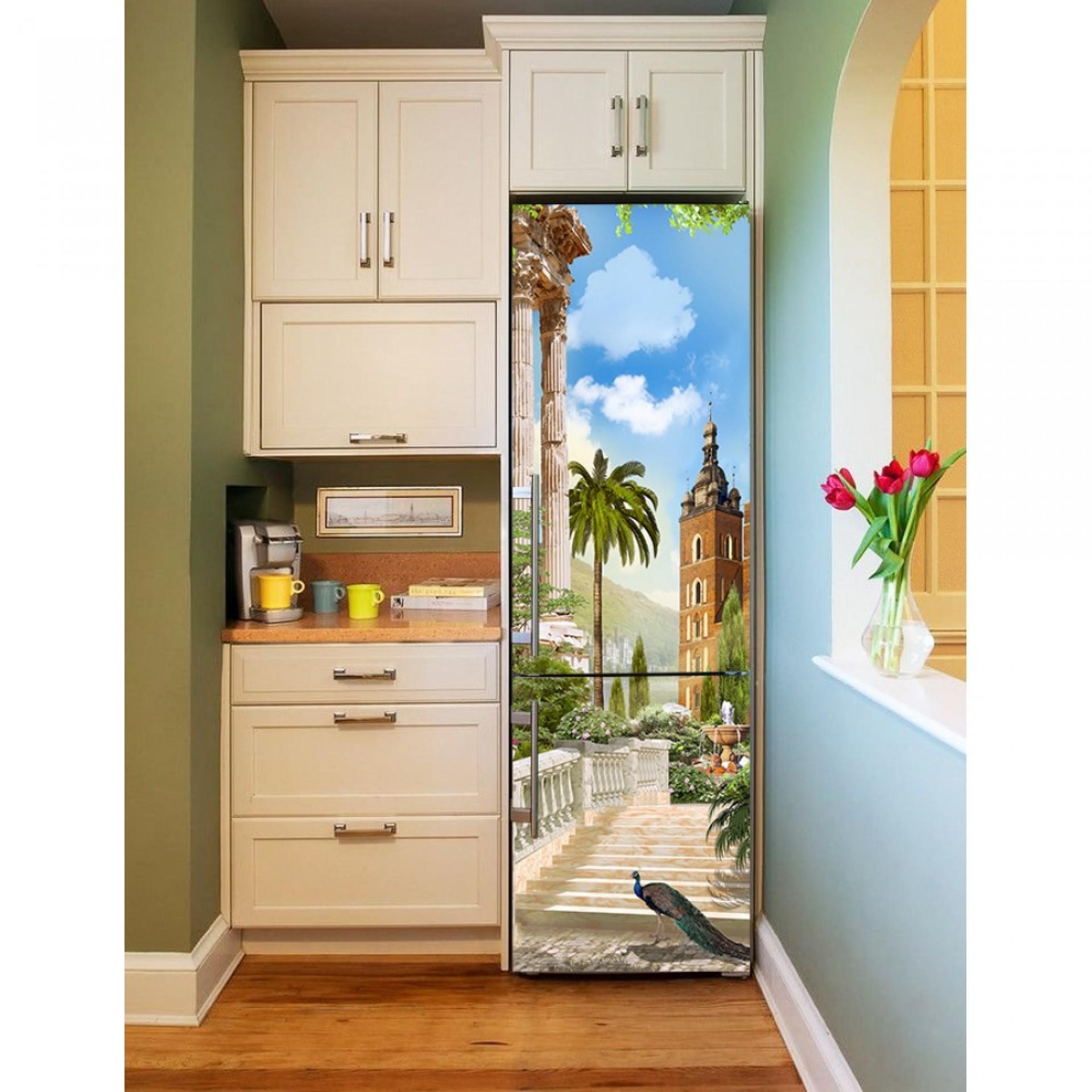 """Магнитное полотно на холодильник """"Павлин""""  МП467"""