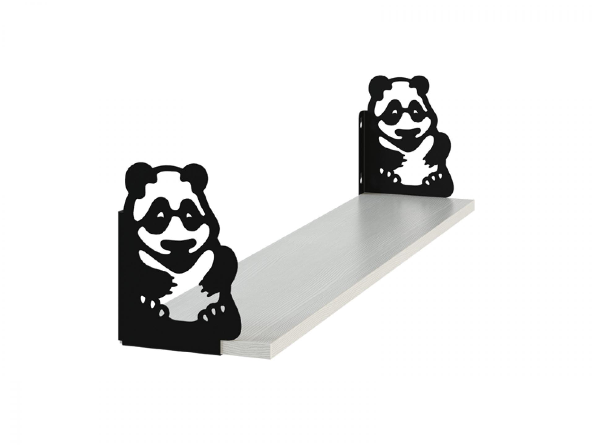 Полка фигурная «Панда»