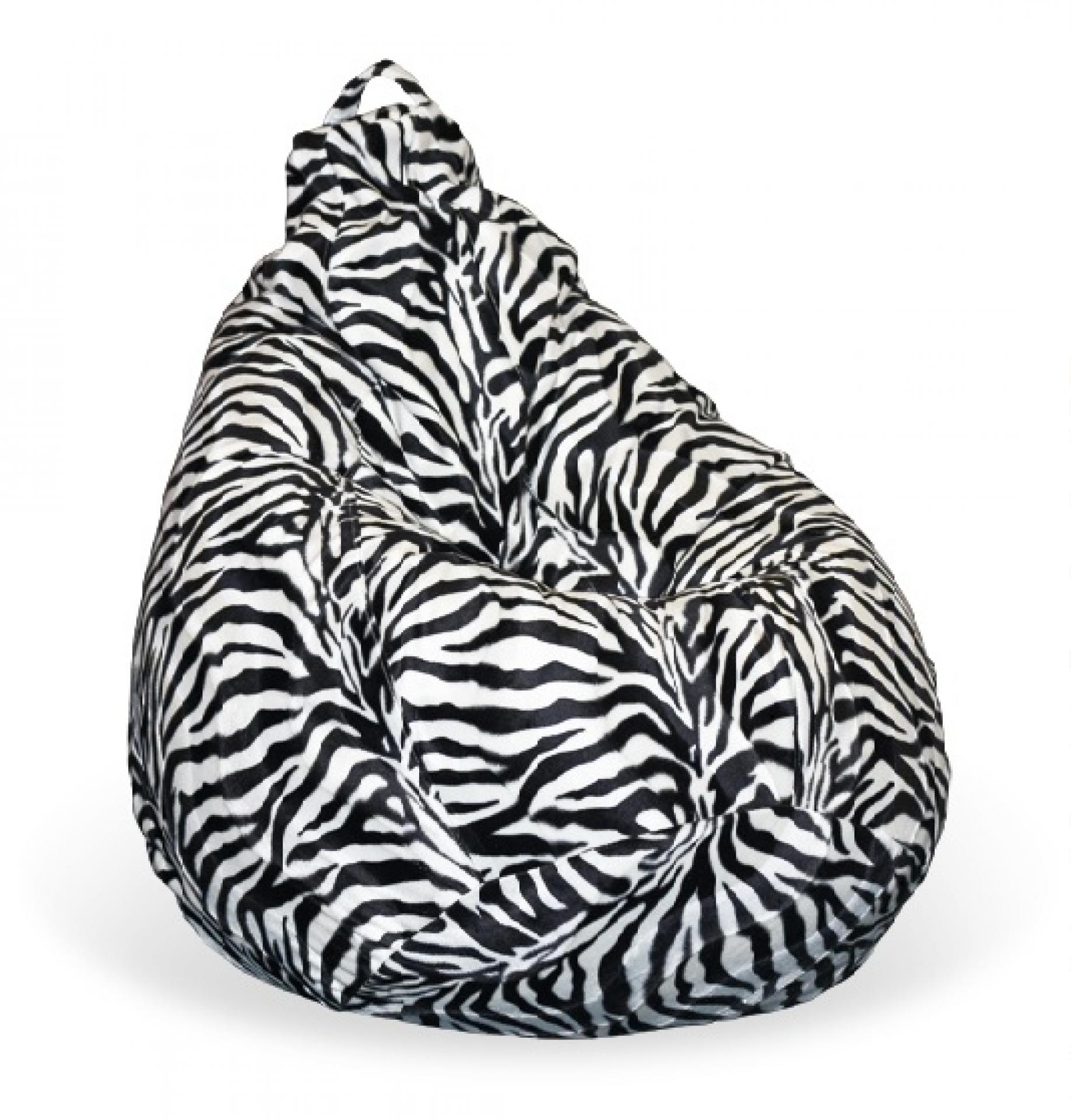 Кресло-мешок Зебра
