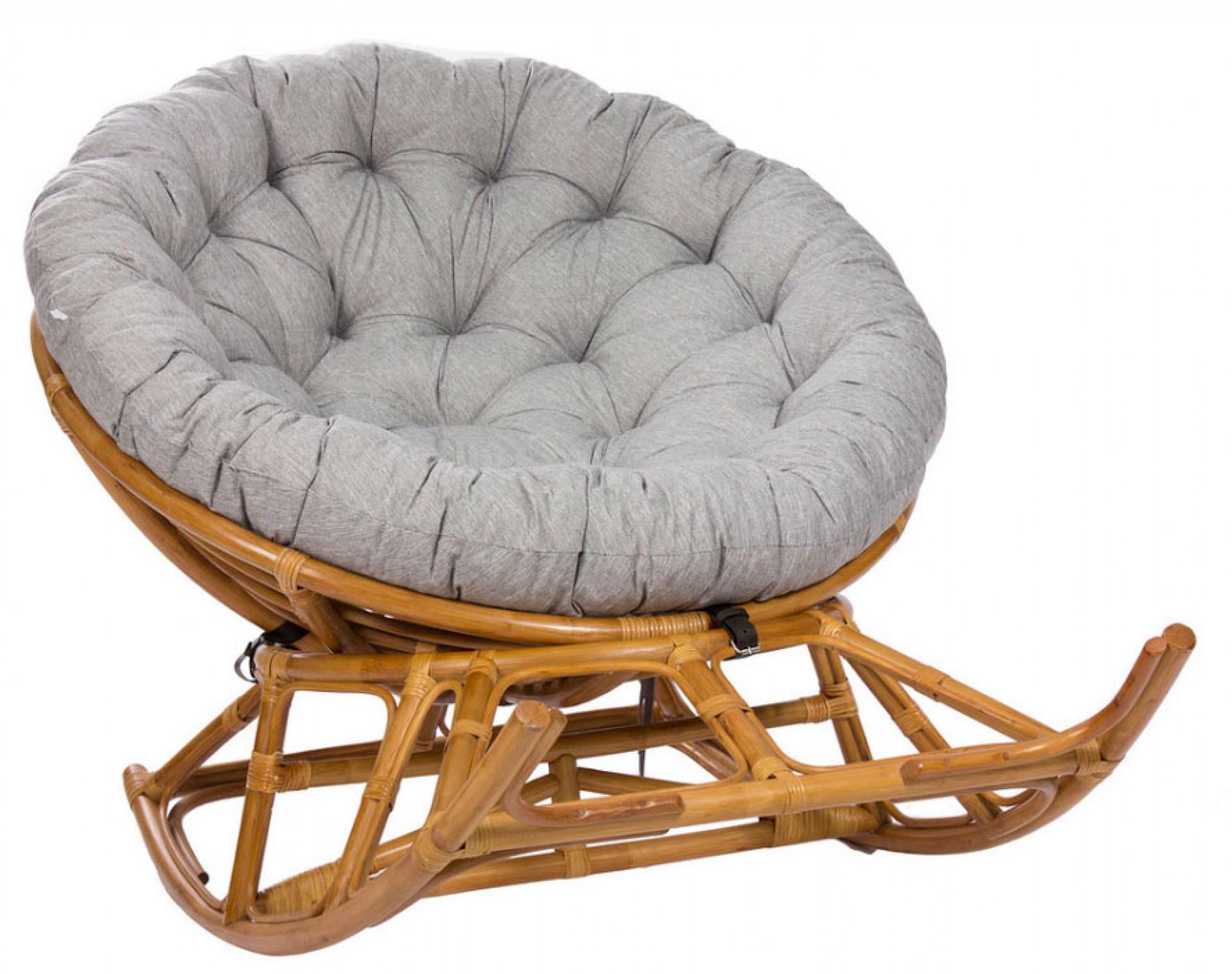 "Кресло-качалка ""Papasan ROCKER CHAIR, с подушкой MI-005"""