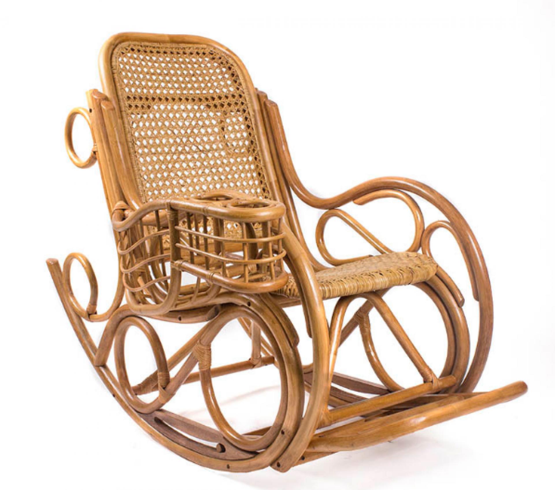 """Кресло-качалка """"Coral"""" с подушкой"""