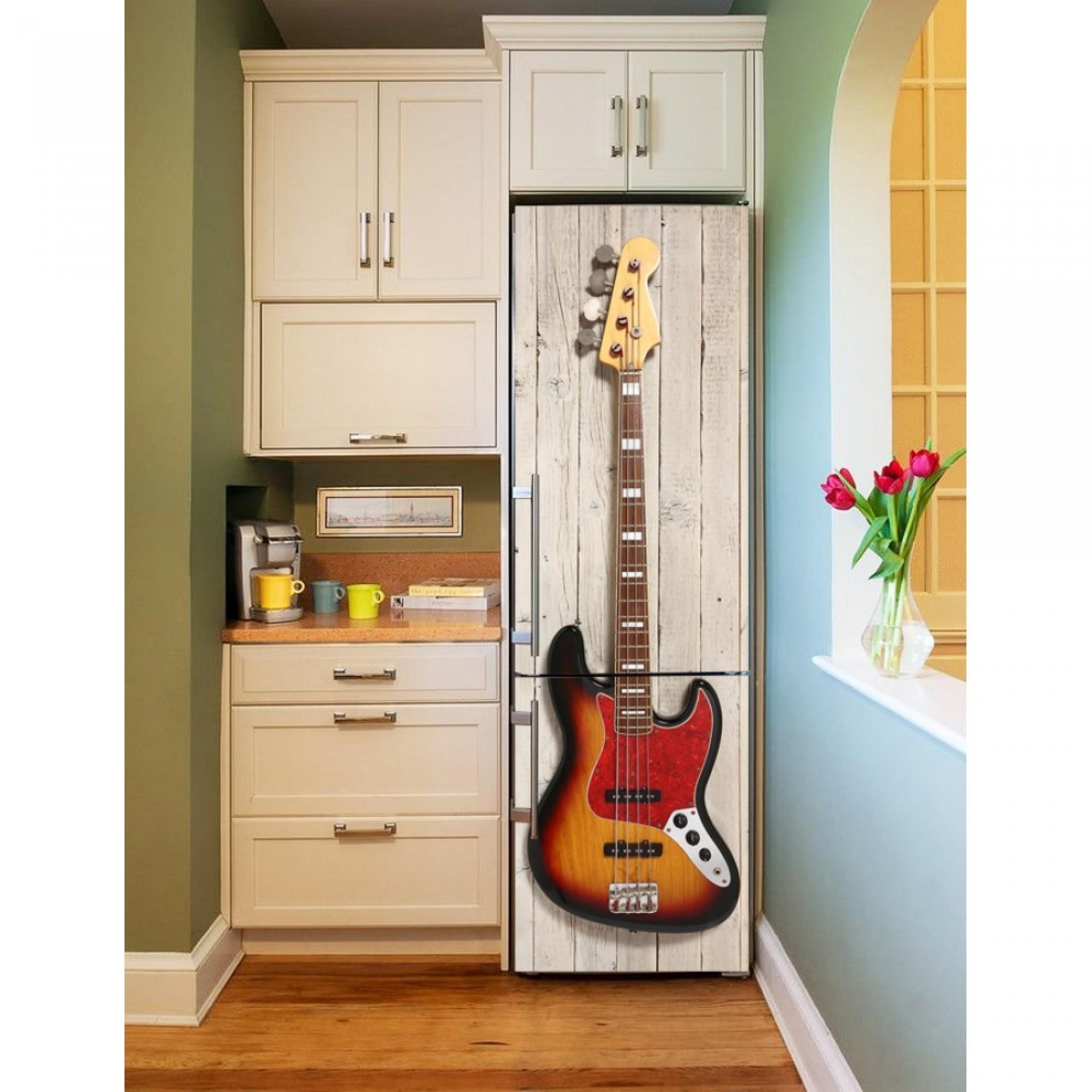 """Магнитное полотно на холодильник """"Гитара""""  МП459"""