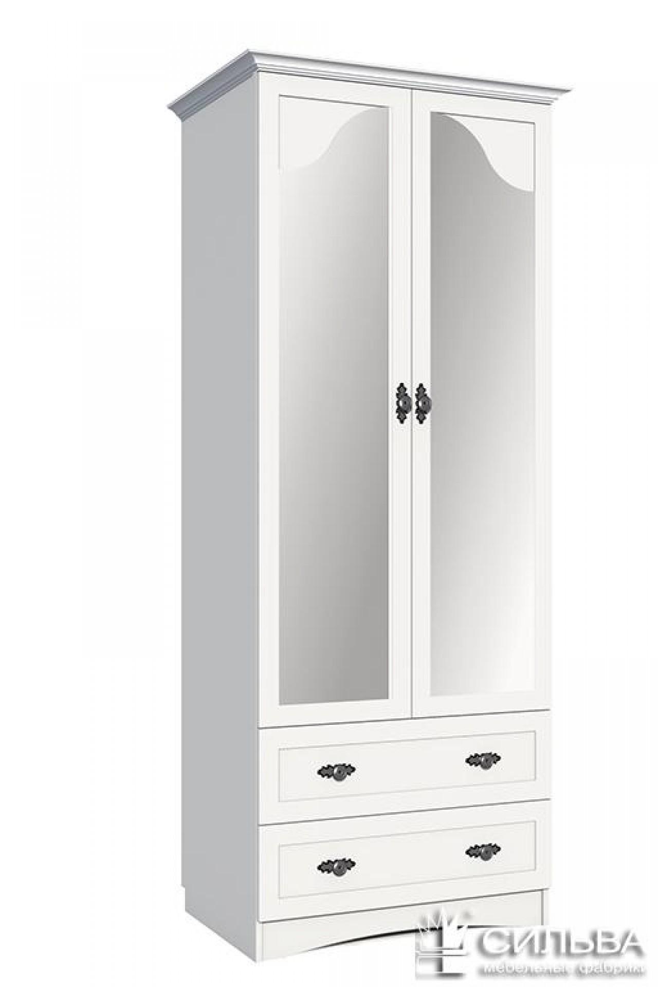 Шкаф для одежды с зеркалом «Прованс» НМ 009.16 Z
