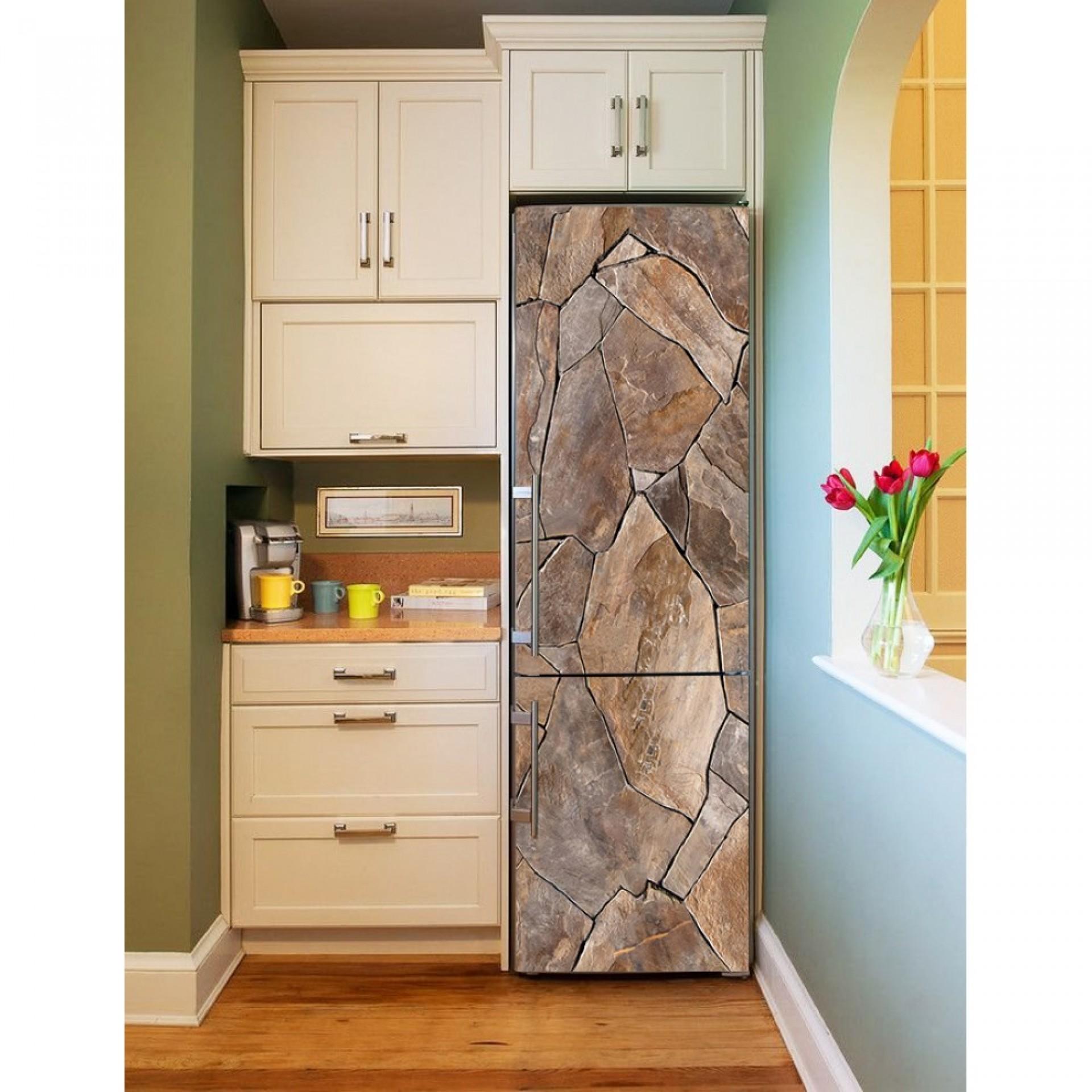 """Магнитное полотно на холодильник """"Камни""""  МП464"""