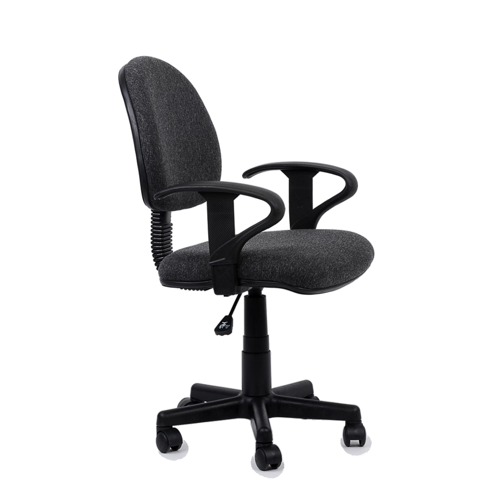 """Кресло """"K-102"""" для персонала темносерая ткань"""