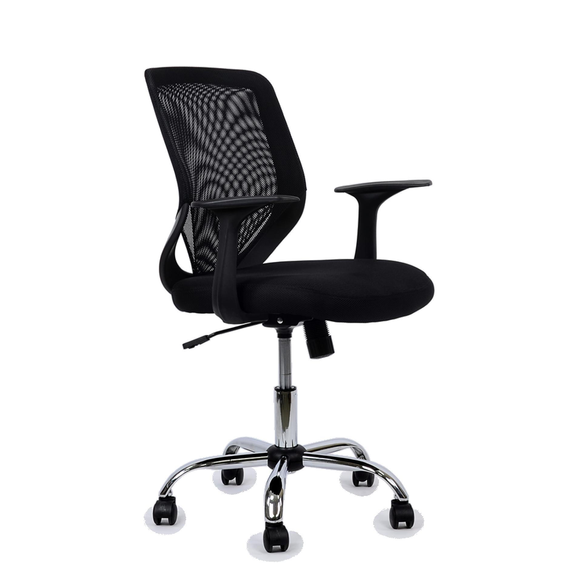 """Кресло """"K-139"""" для персонала черная ткань"""