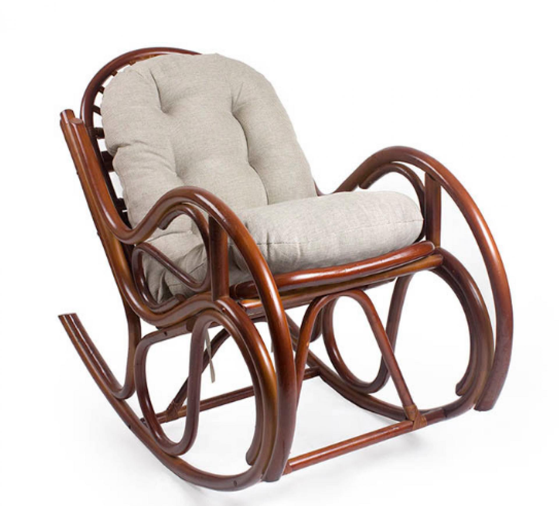 """Кресло-качалка """"Bella"""" с подушкой"""