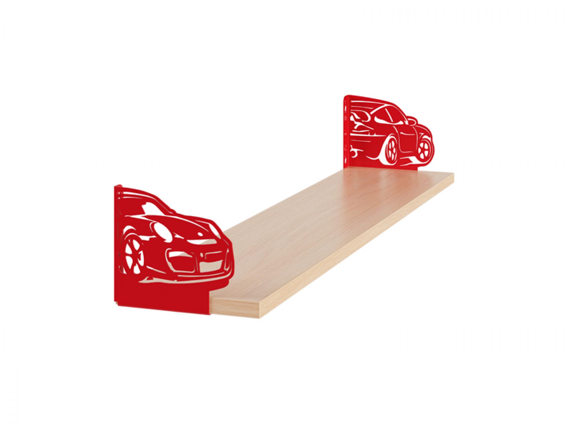 Полка фигурная «Автомобиль 1»