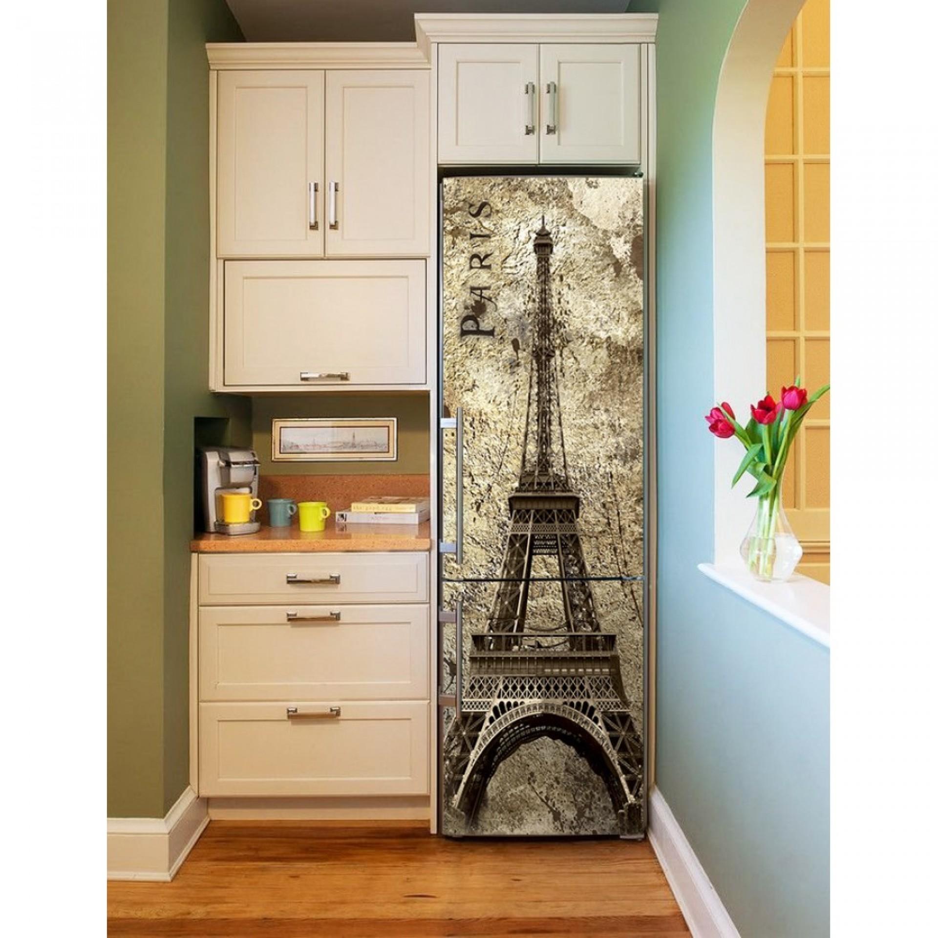 """Магнитное полотно на холодильник """"Париж""""  МП456"""