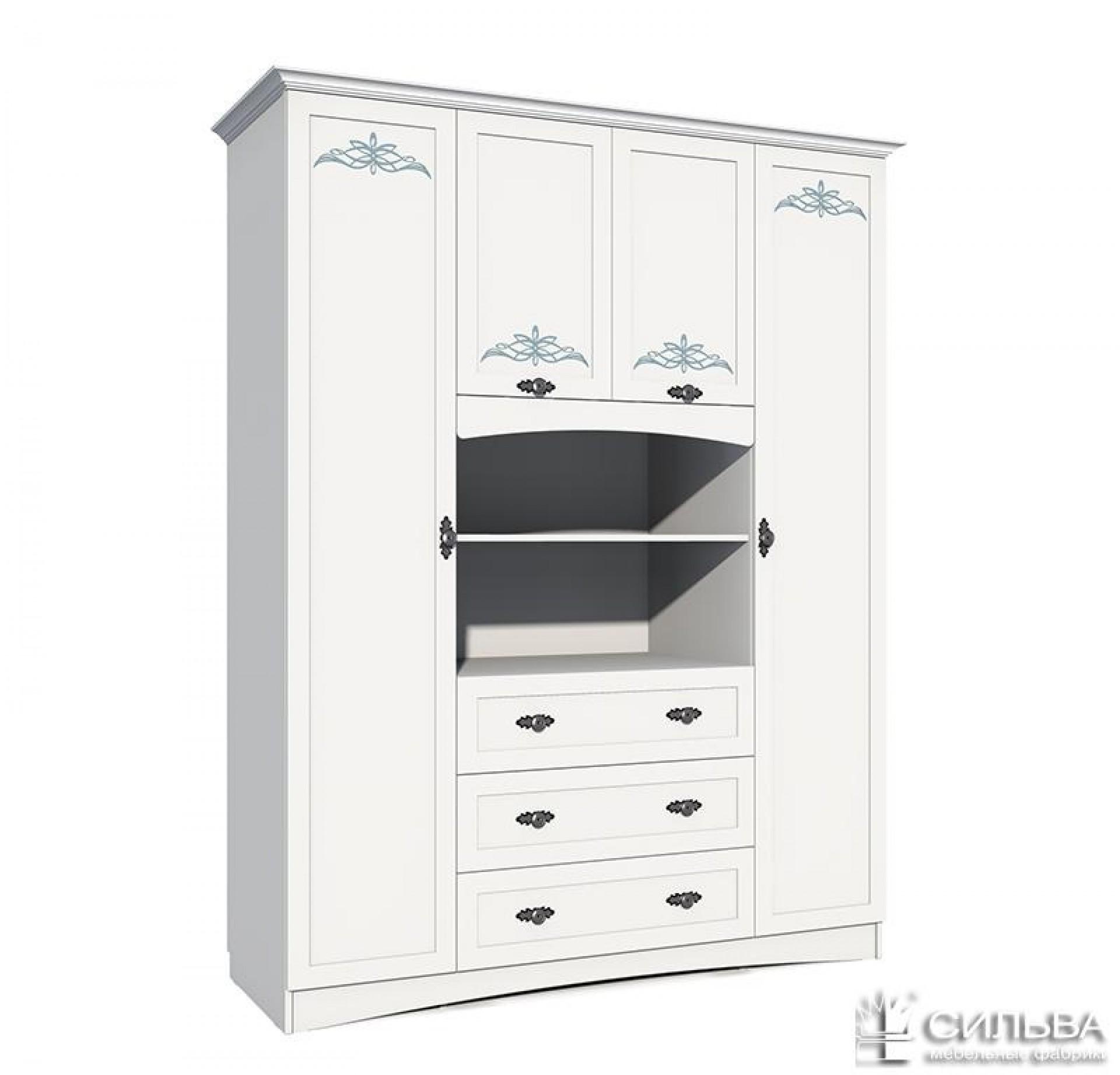 Шкаф комбинированный «Прованс» НМ 009.25