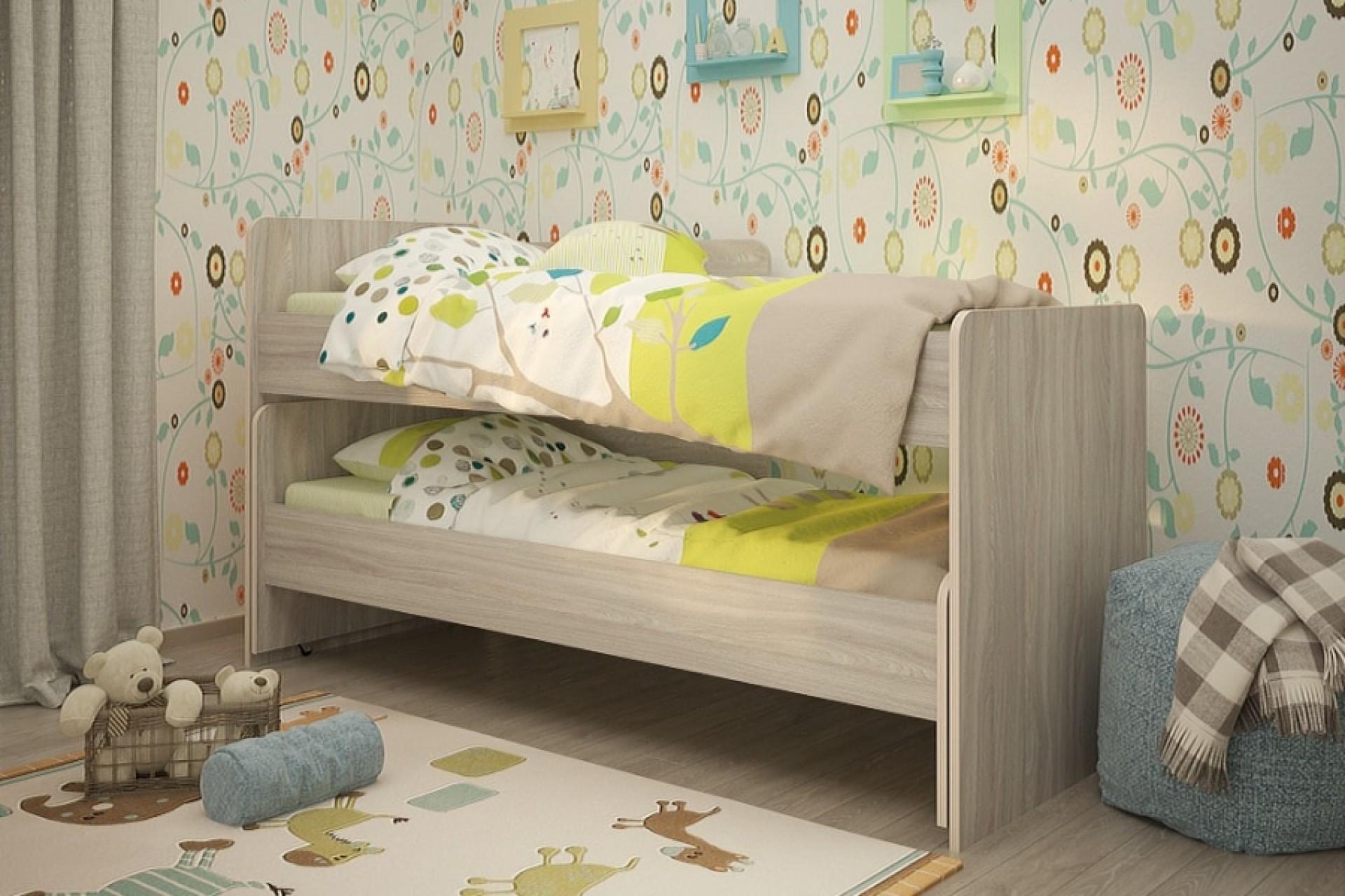 """Детская кровать """"Радуга 1900"""""""