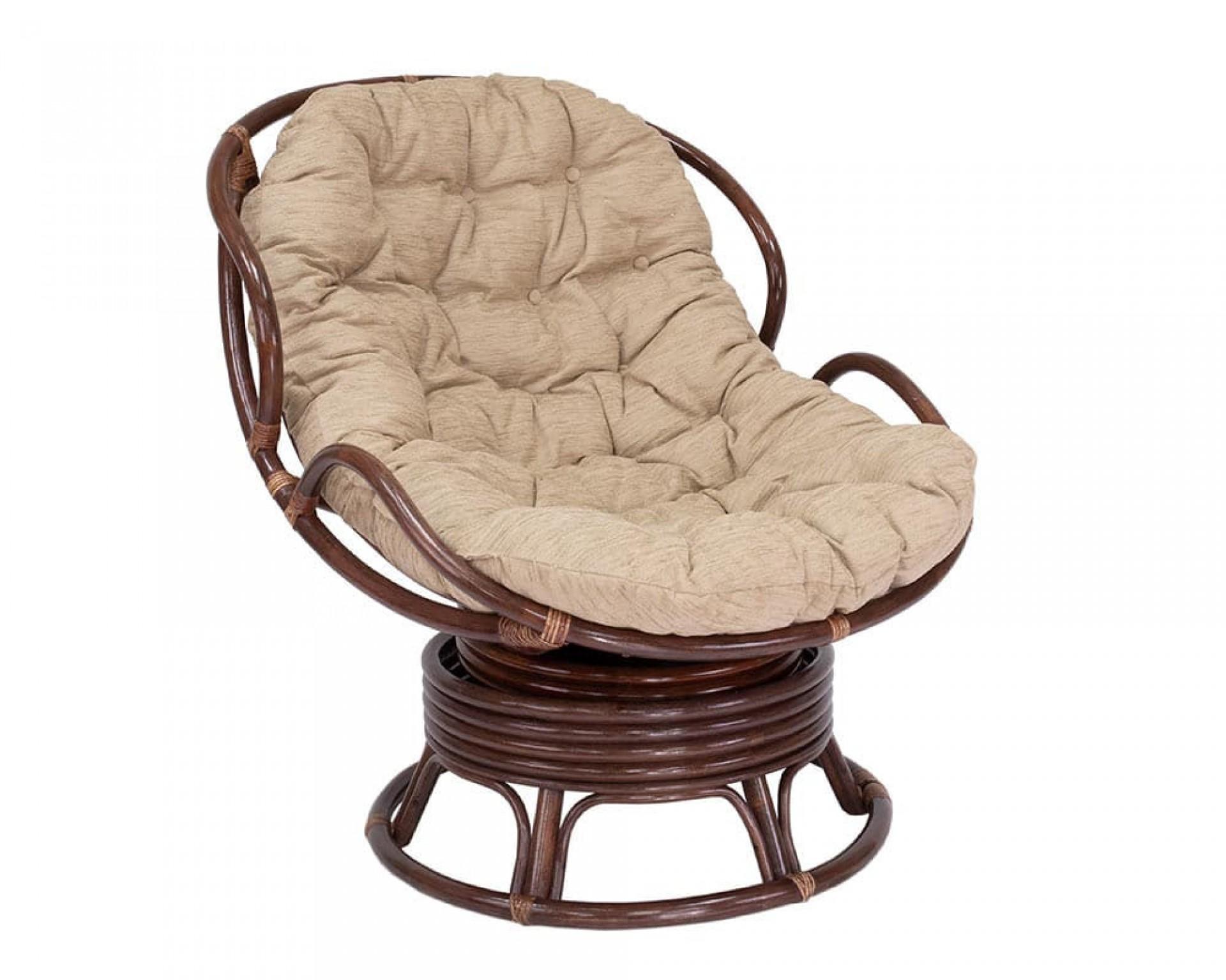 """Кресло-качалка """"LESET Papasun Chelsea"""" с подушкой"""