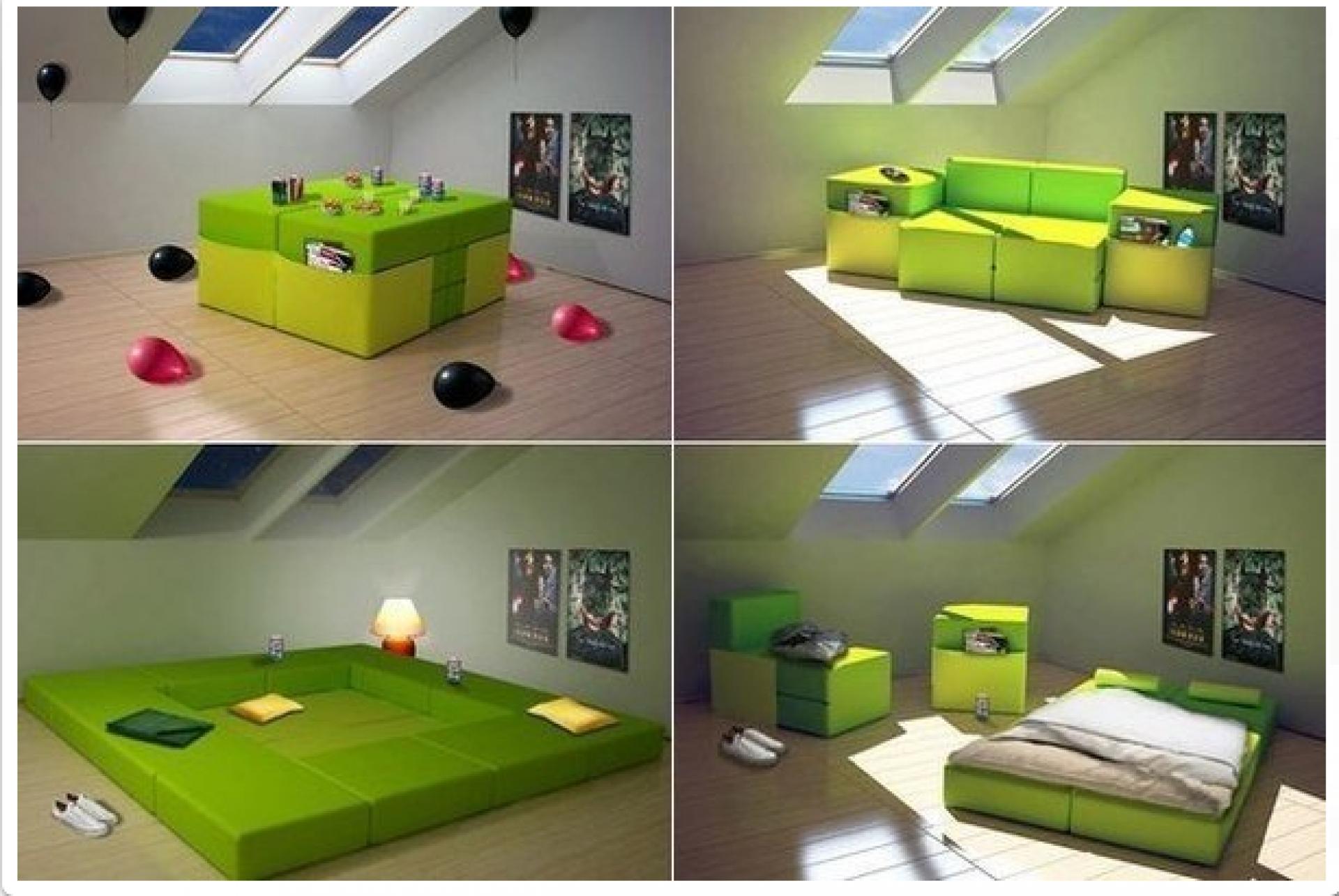 """Модульный диван-трансформер """"Идея Фикс"""""""