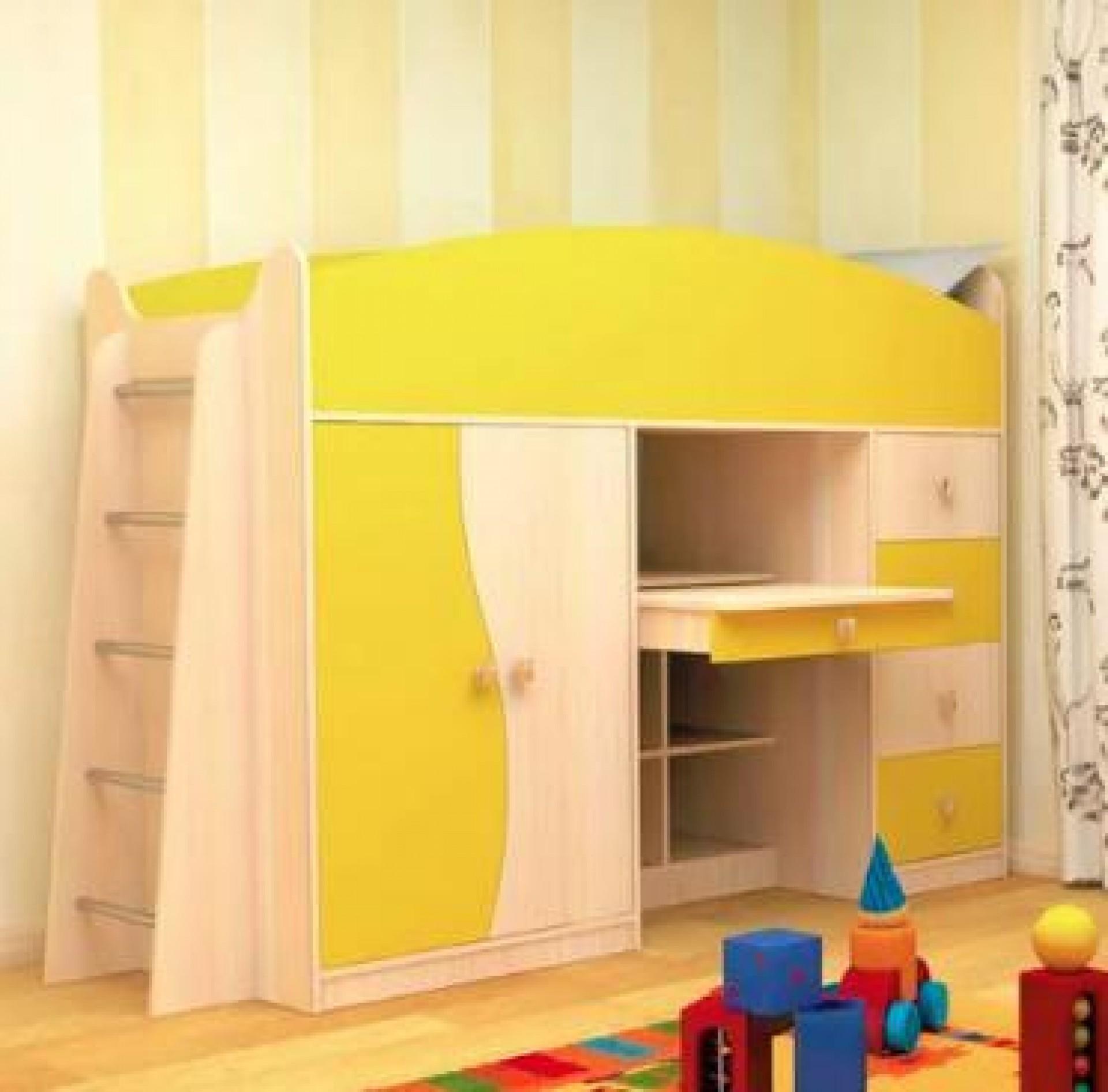 """Детская кровать комплекс """"Бэмби"""""""