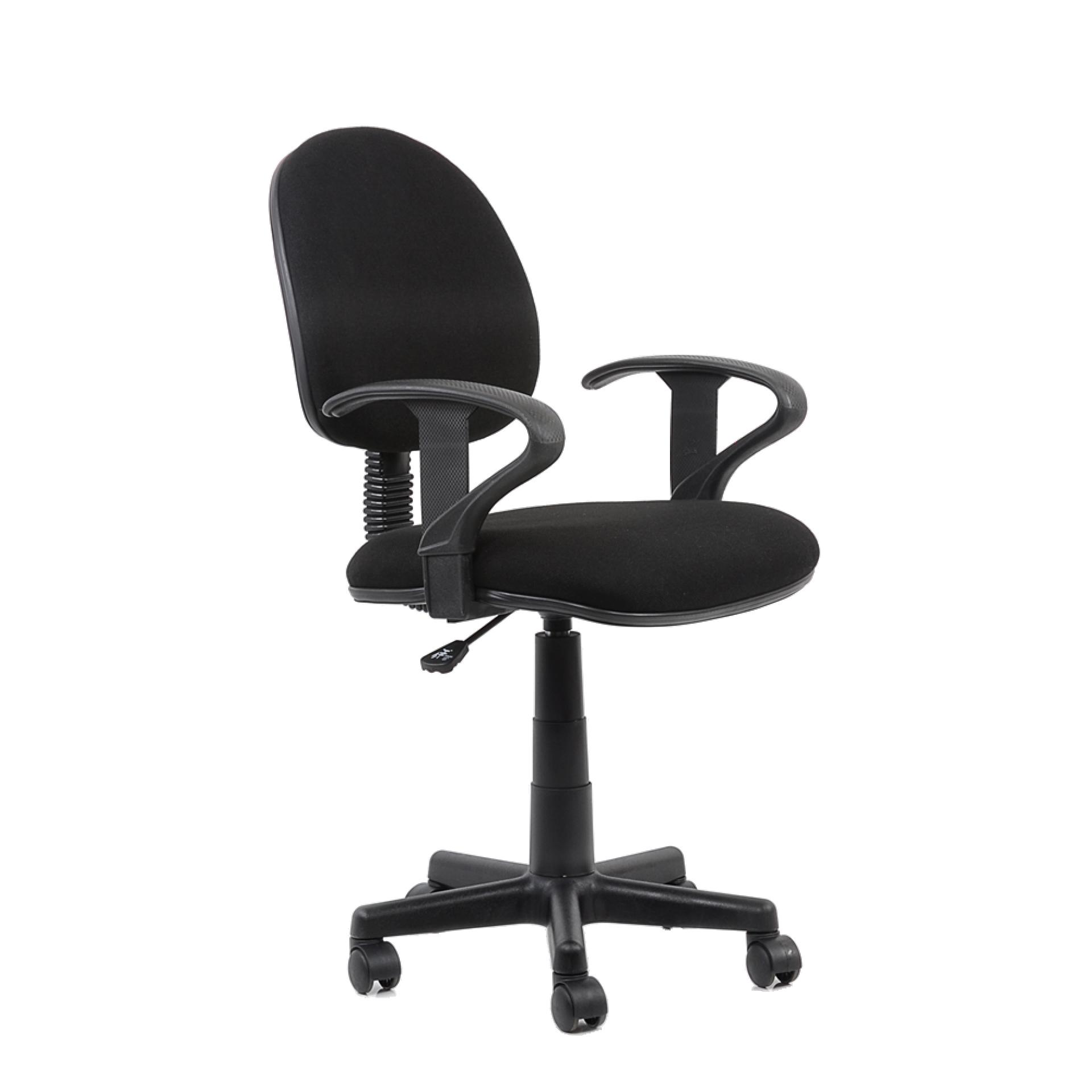 """Кресло """"K-102"""" для персонала черная ткань"""