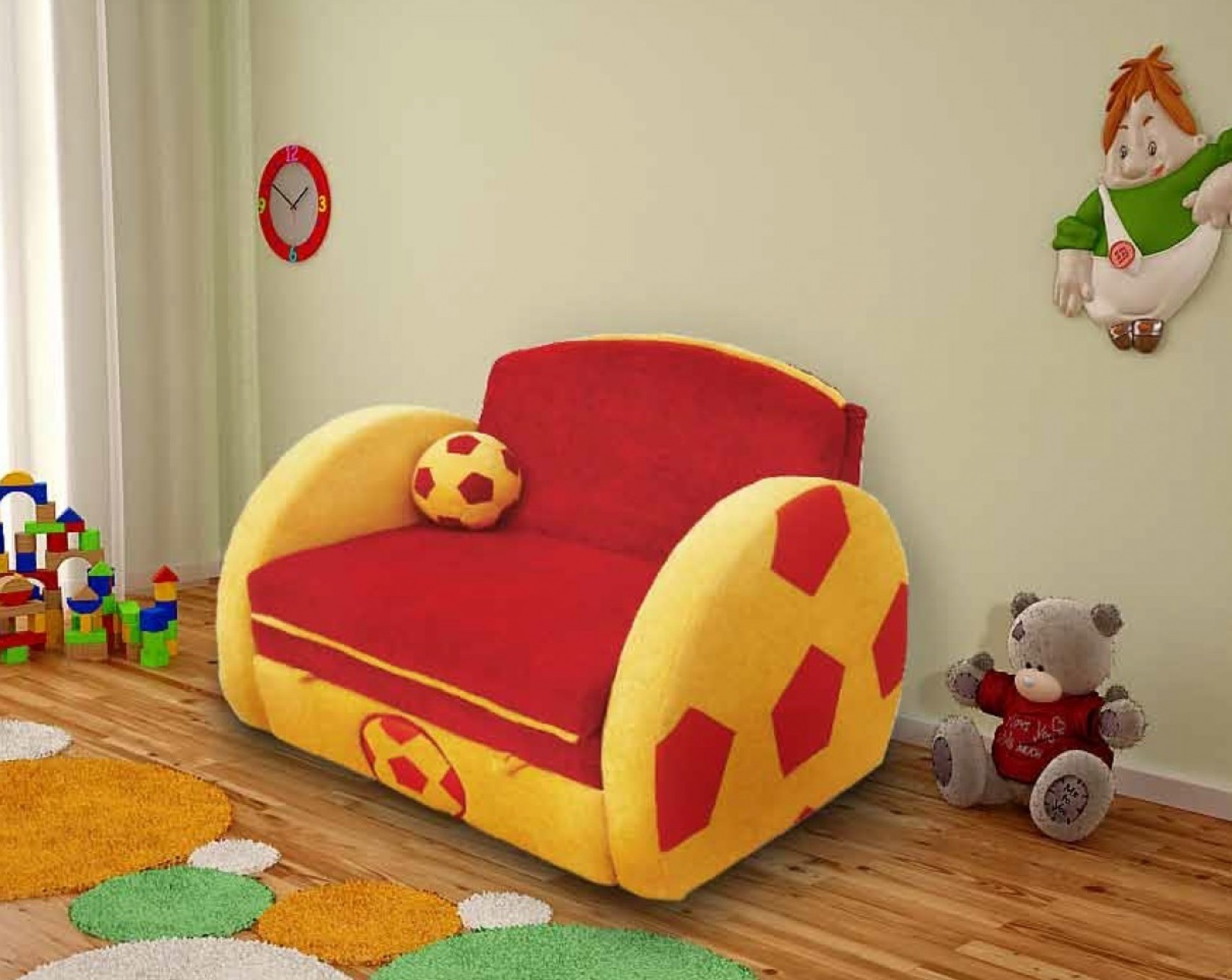 "Детский диван ""Мяч"""