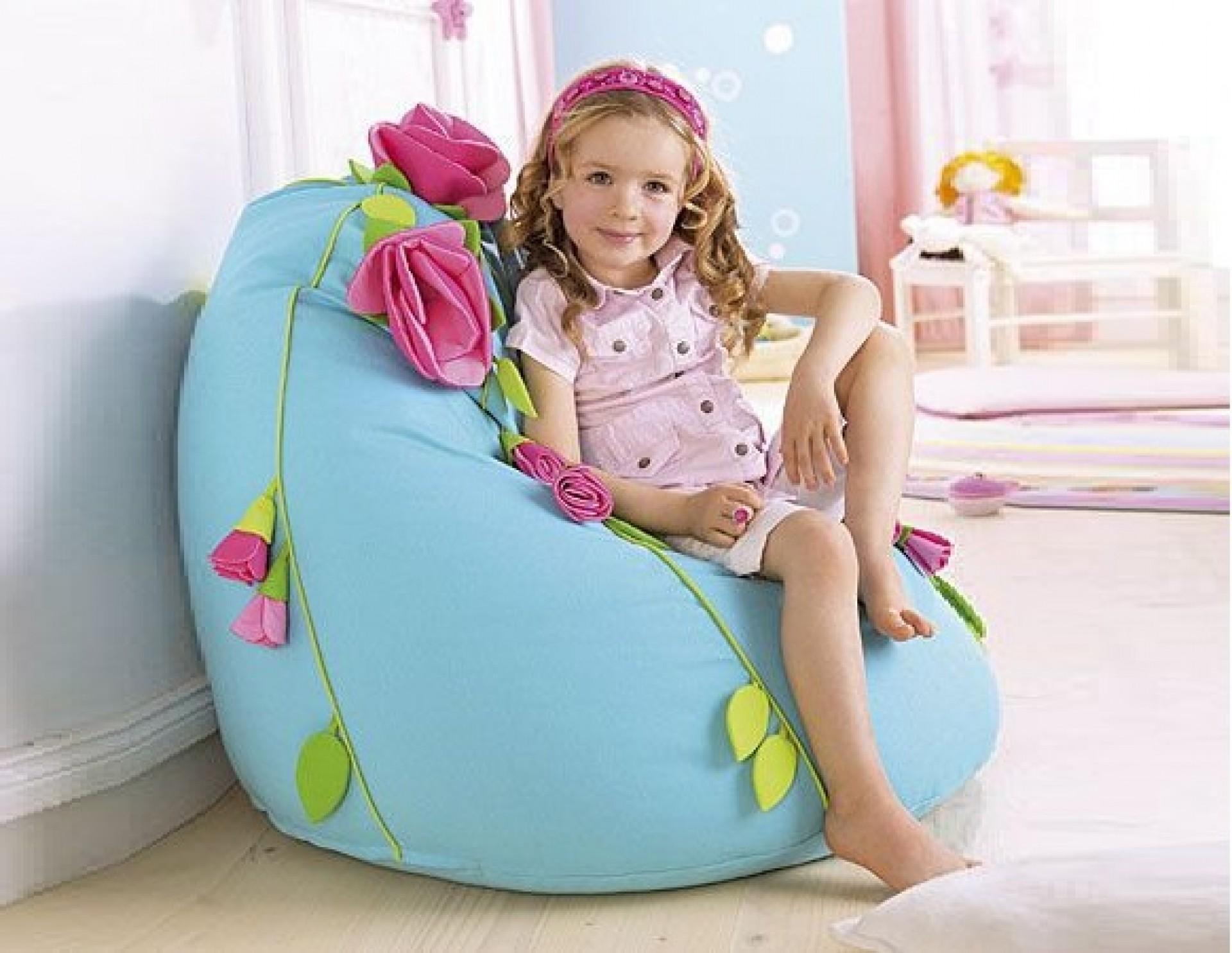 """Детское кресло-мешок """"Голубая мечта"""""""