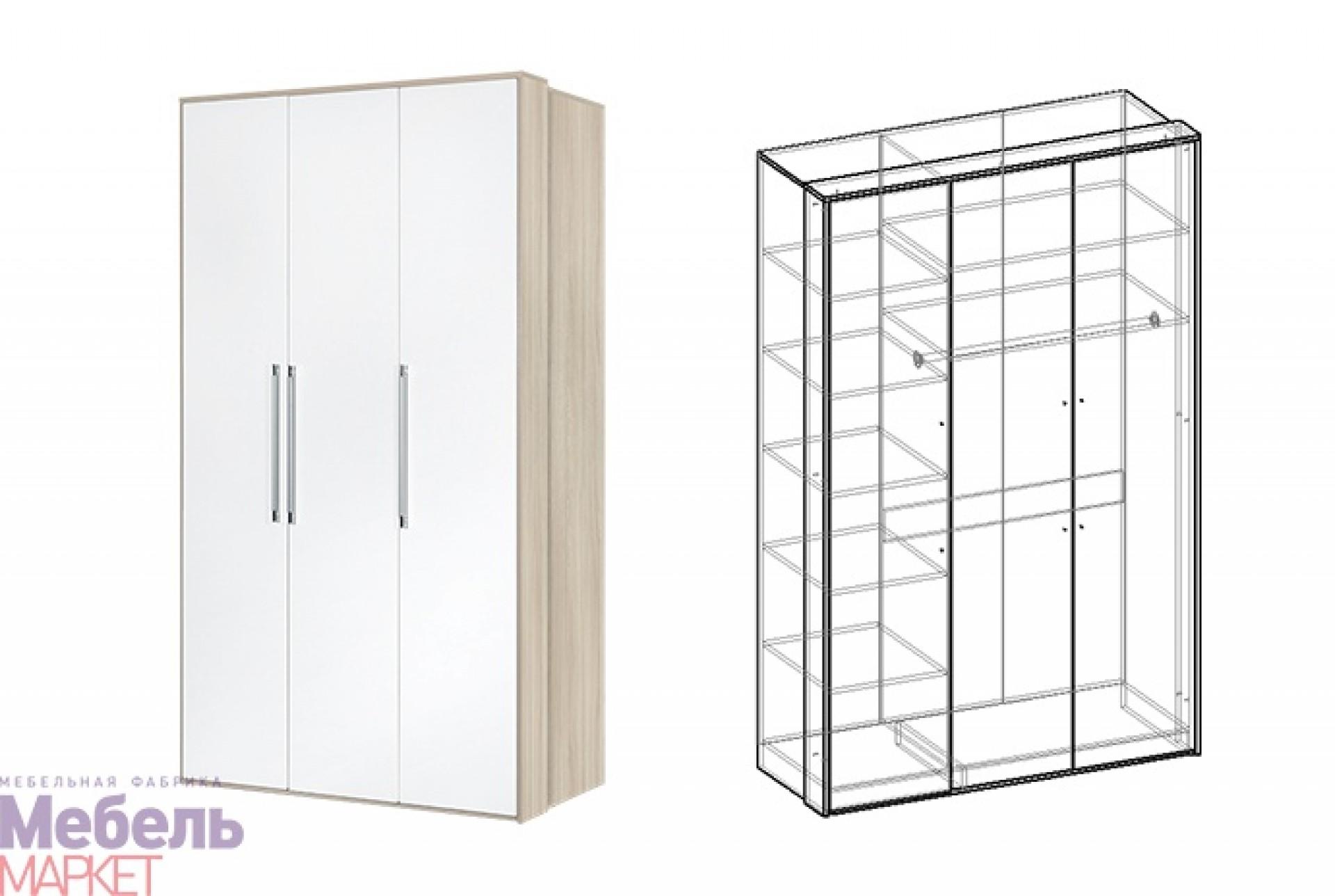"Шкаф 3х створчатый Спальня ""Интегро"""